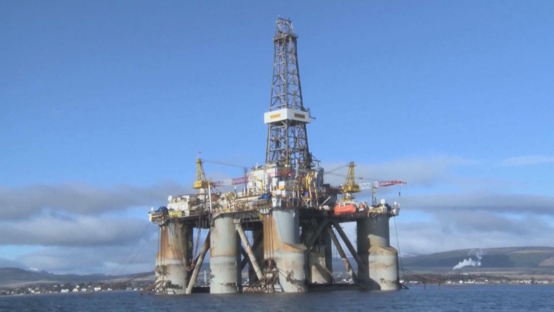 油價跌逾1% 紐約期油跌穿每桶40美元