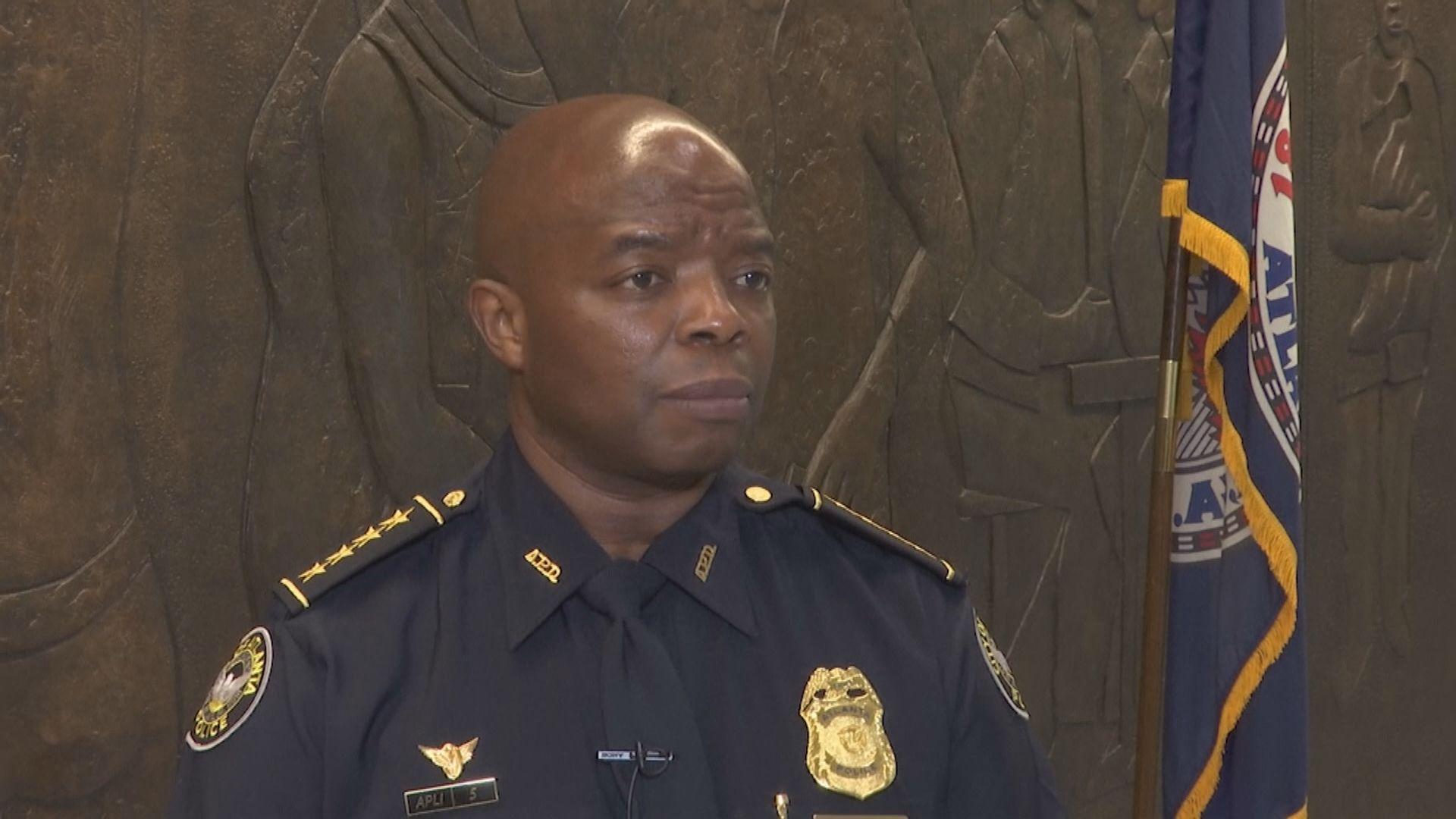 亞特蘭大臨時警察總長稱案件與種族無關