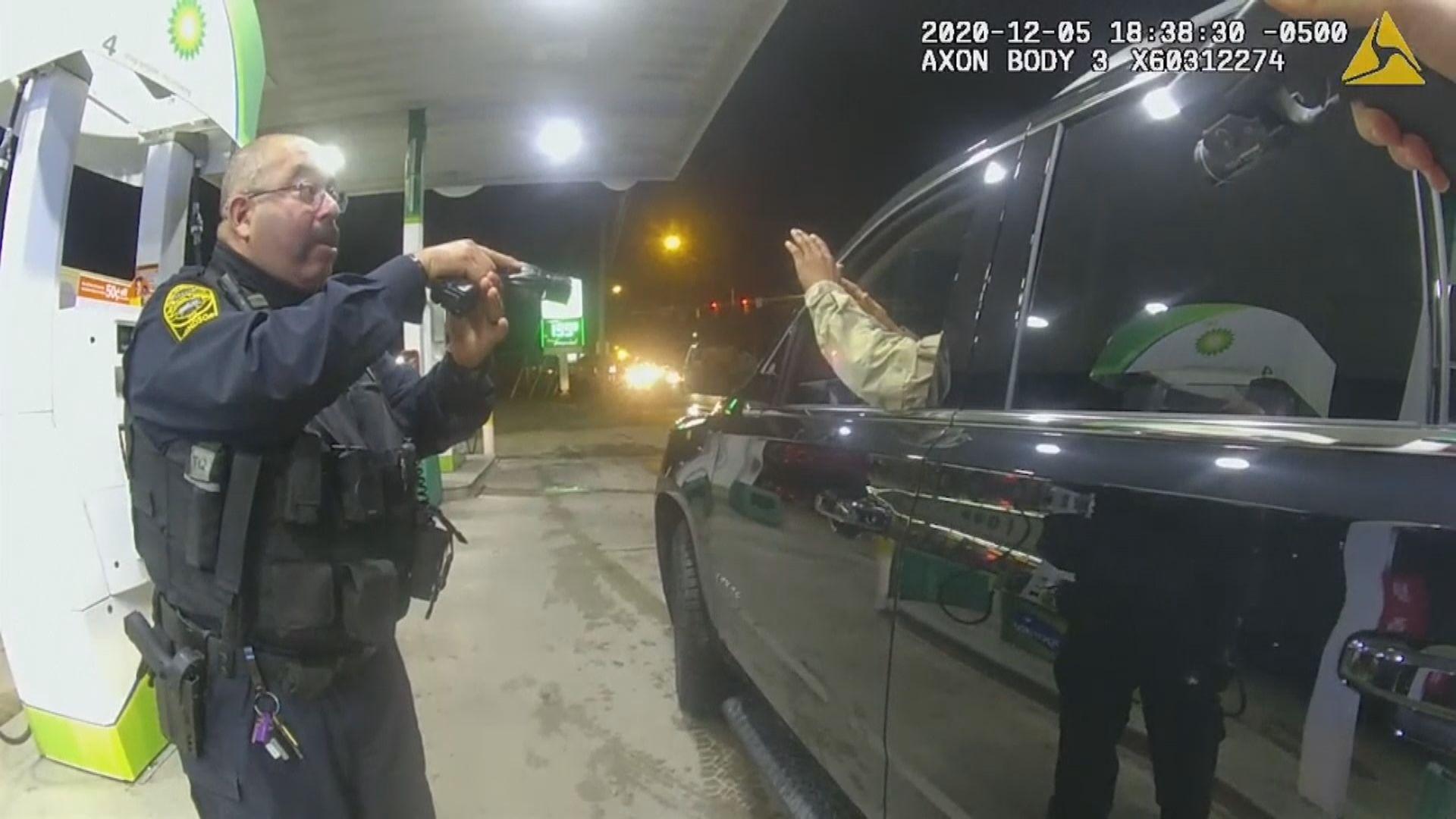 美國黑人軍人控警員截查時暴力對待 侵犯其憲法權利