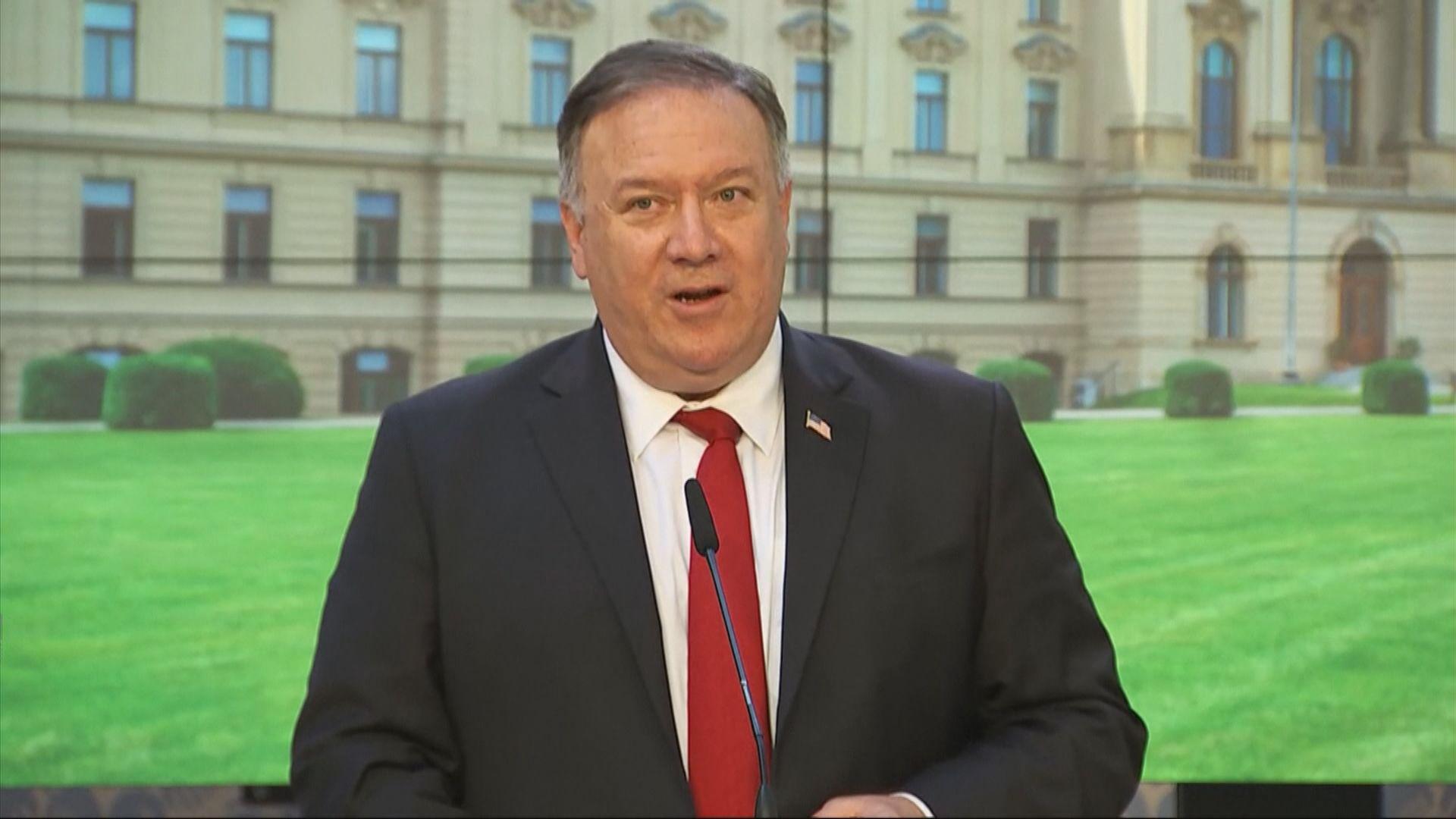 蓬佩奧籲美政界對中國外交官保持警惕