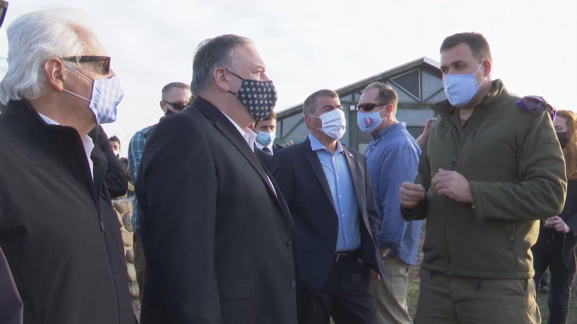 蓬佩奧宣布將西岸猶太殖民區出口產品標記為以色列製造