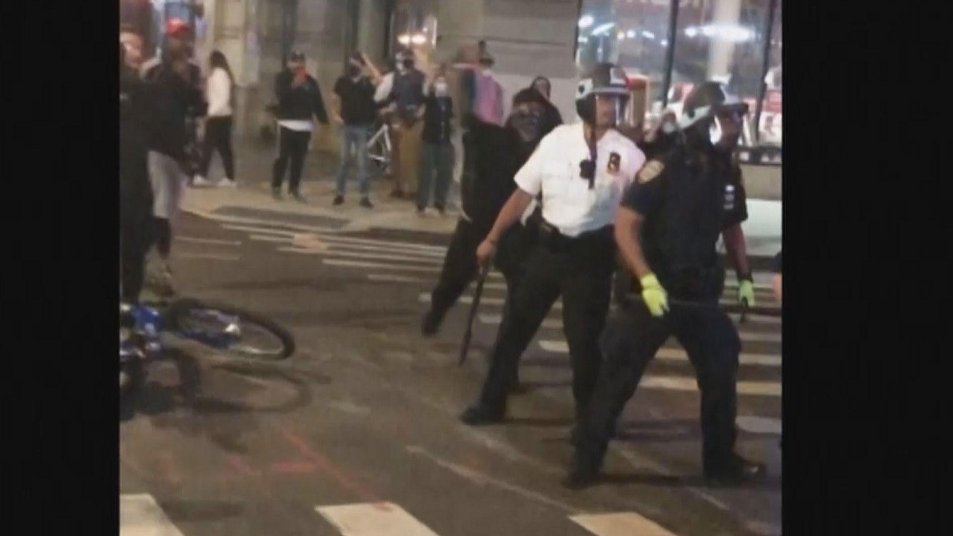 美國示威持續 多名執勤警員遭槍傷和遇襲