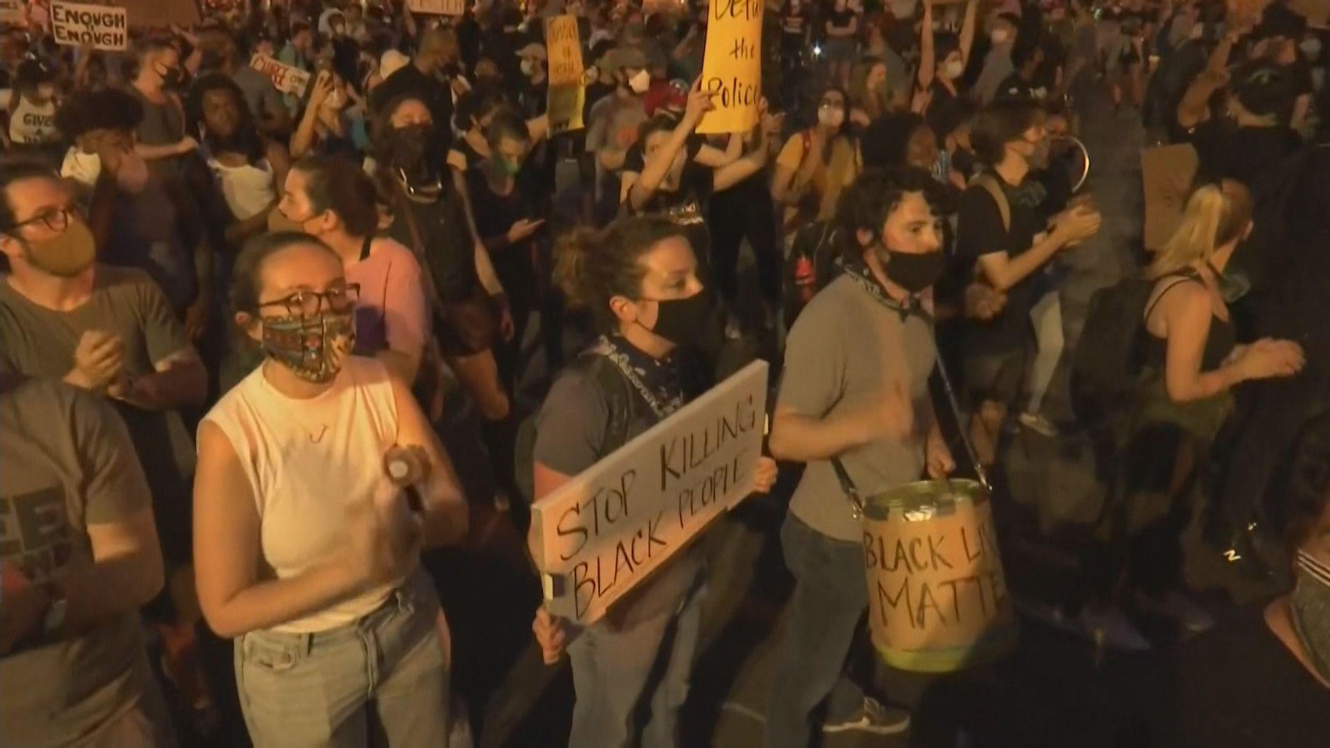 【連續第九晚】美國多處續有民眾示威抗議種族歧視