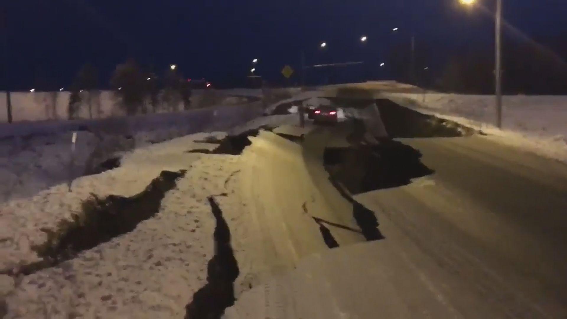 阿拉斯加七級地震 州長宣布進入災難狀態