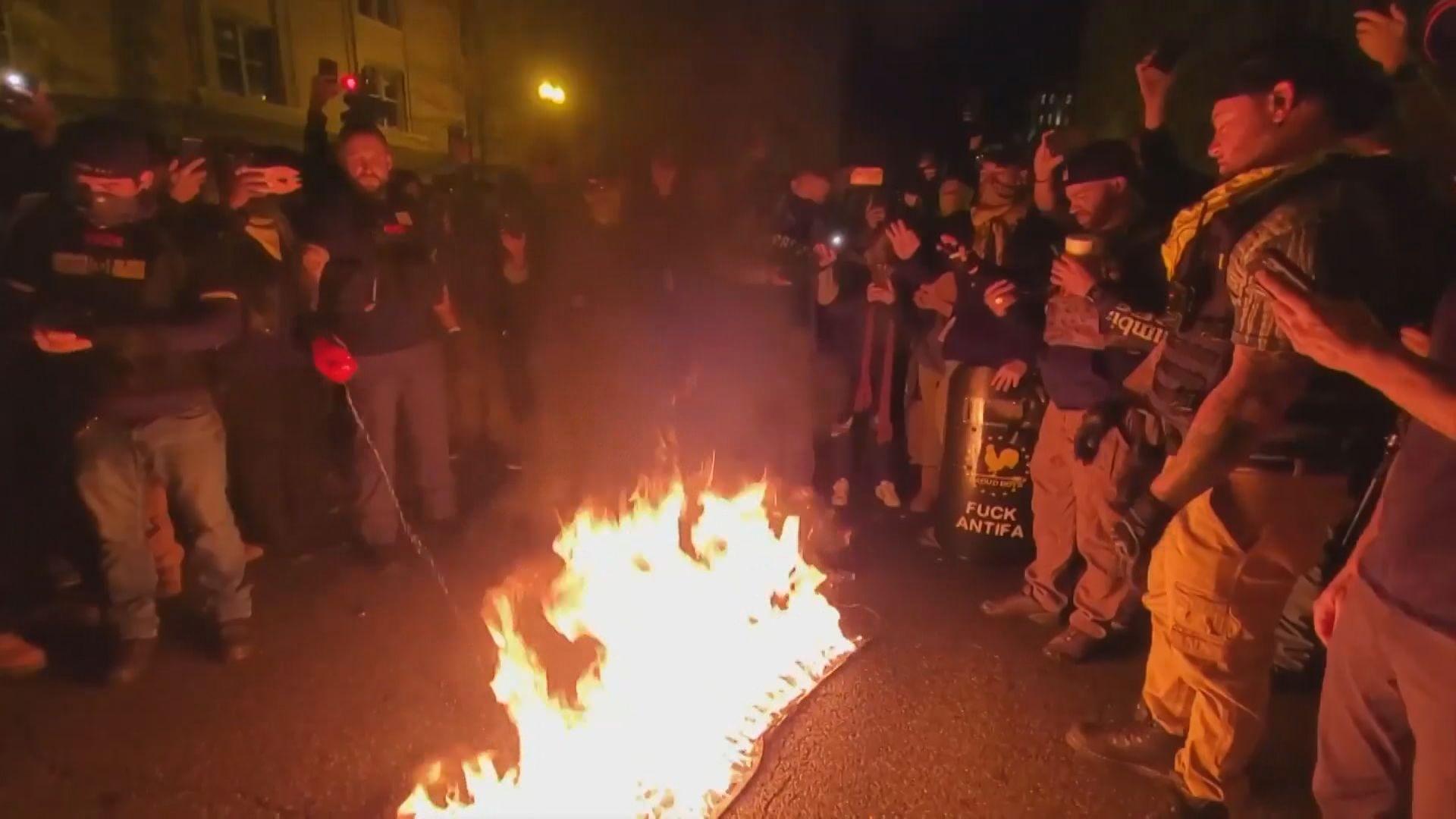 美國右翼團體擬在華盛頓發起支持特朗普遊行
