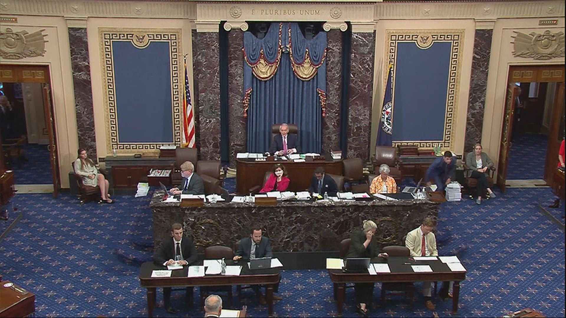 美國參議院通過逾2400億美元撥款計劃振興科技業
