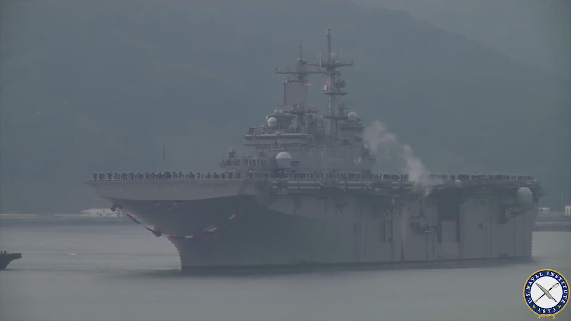 中國拒絕美軍攻擊艦訪港申請