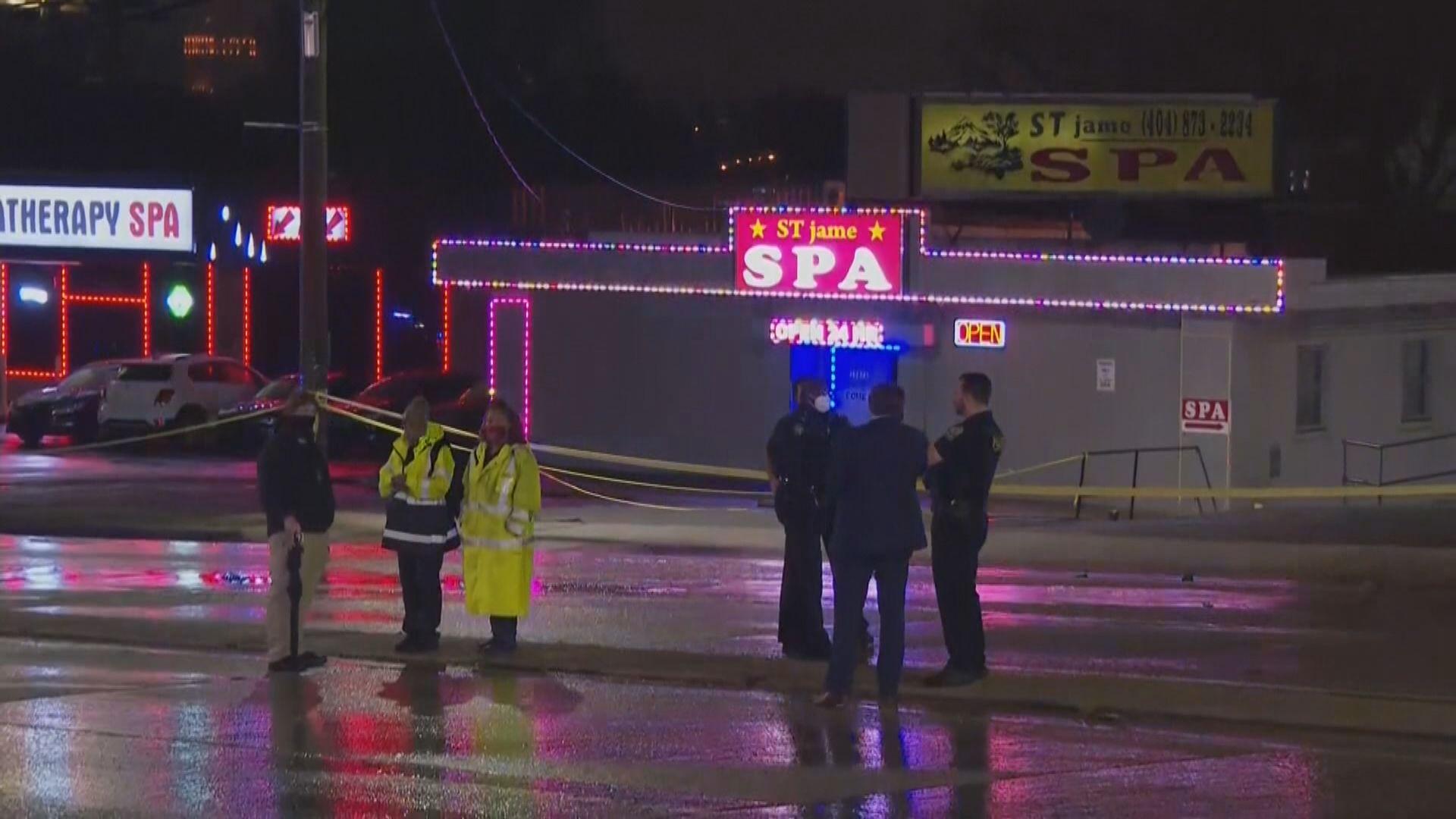 美國亞特蘭大市槍擊案當中四名女死者為韓裔 警拘一男