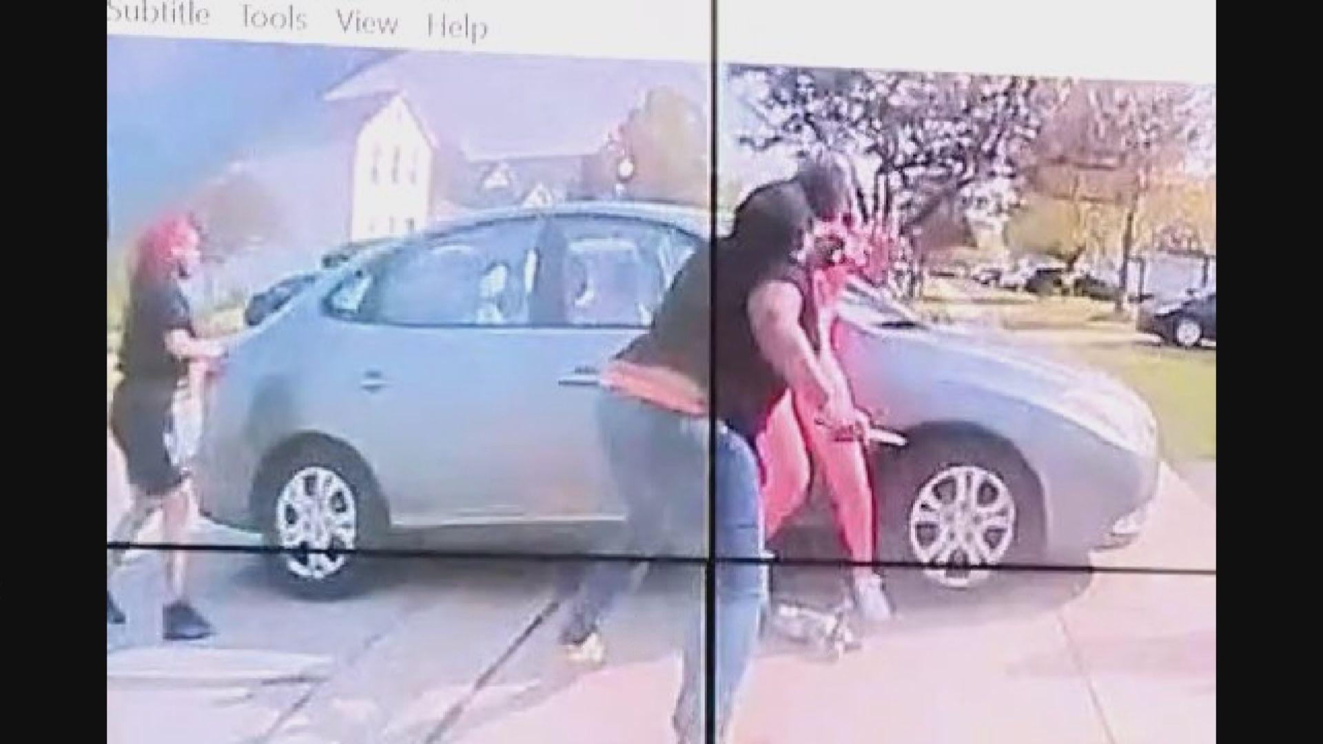 俄亥俄州黑人女孩疑持刀施襲遭警擊斃
