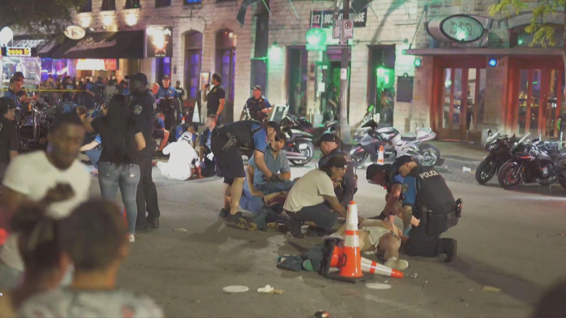 美國得州奧斯汀槍擊案14人傷