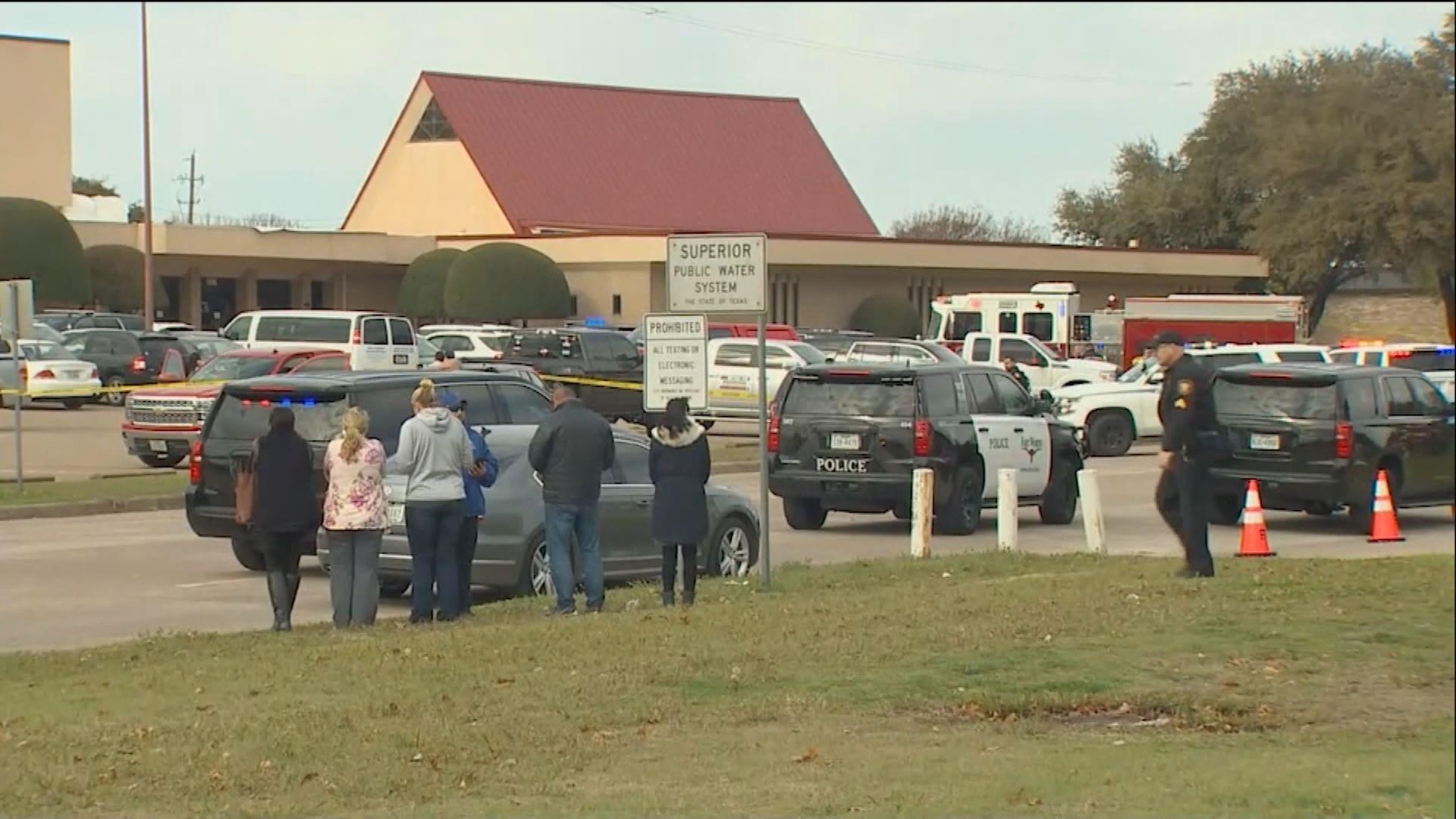 美國得州教堂發生槍擊案最少兩死一重傷