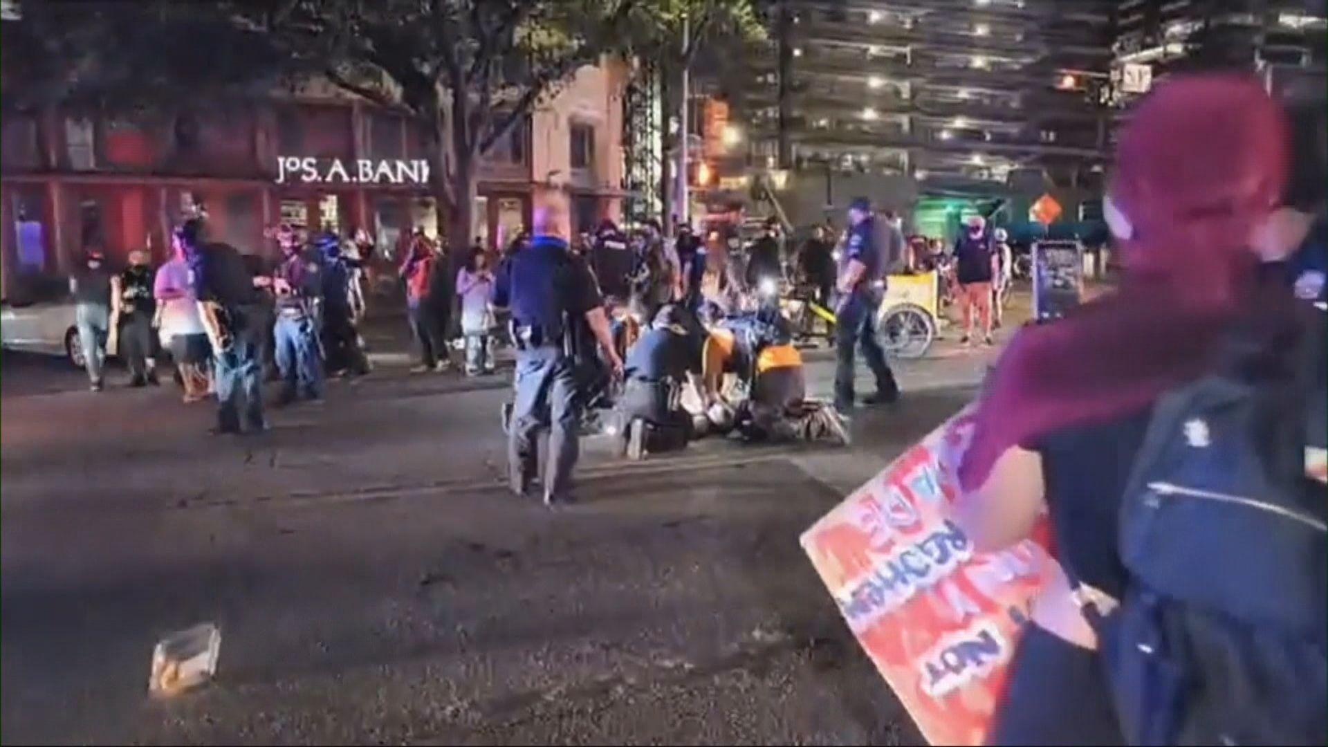 美國反警暴示威持續 得州有示威者中槍死亡