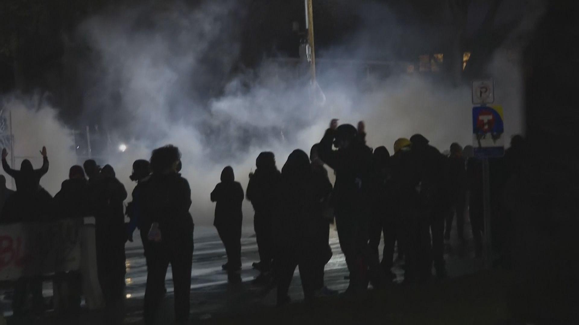 美非裔男子疑遭警擊中後死亡引發示威 事發城市宵禁