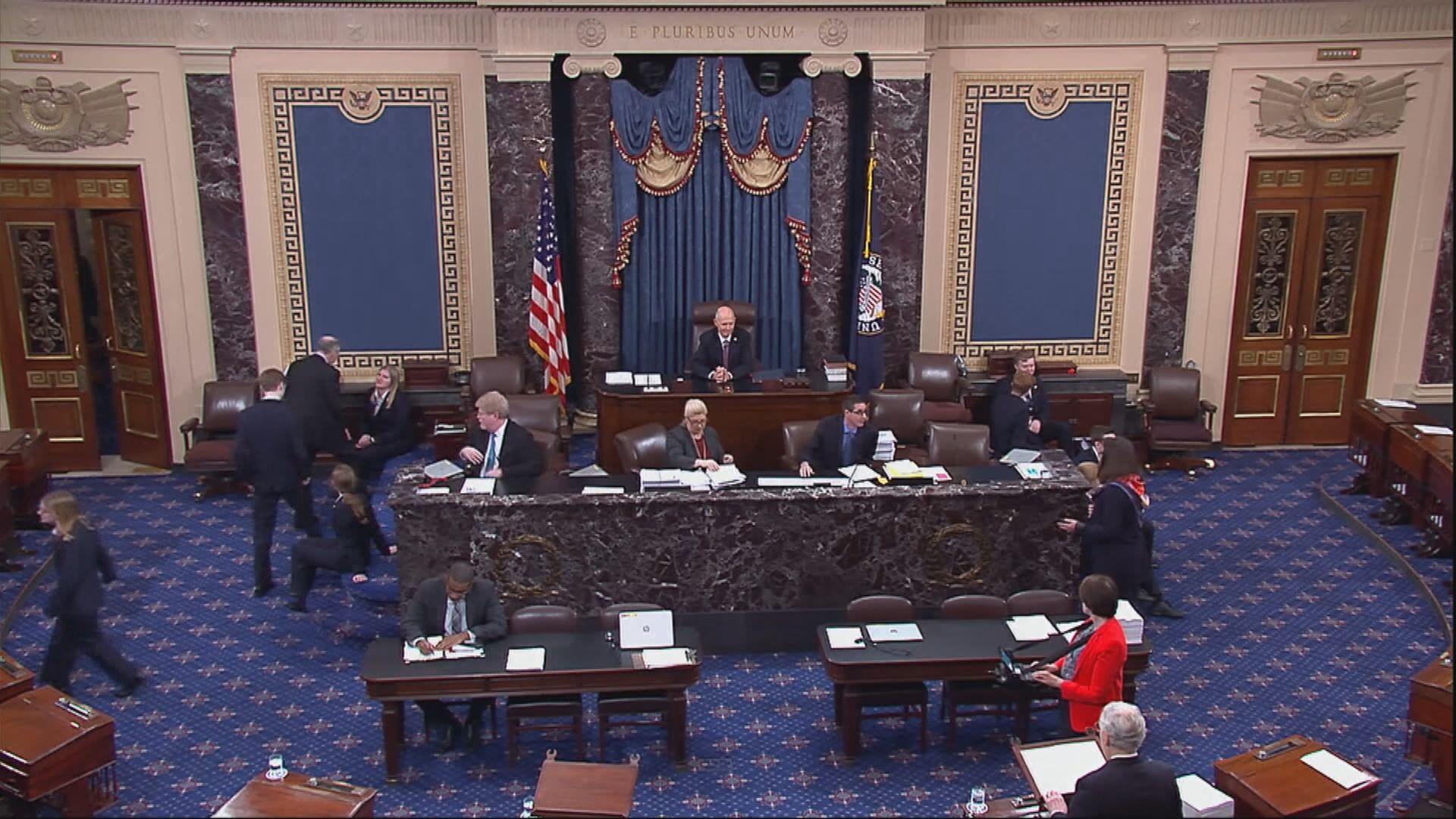 美國參議院否決兩項重開政府法案