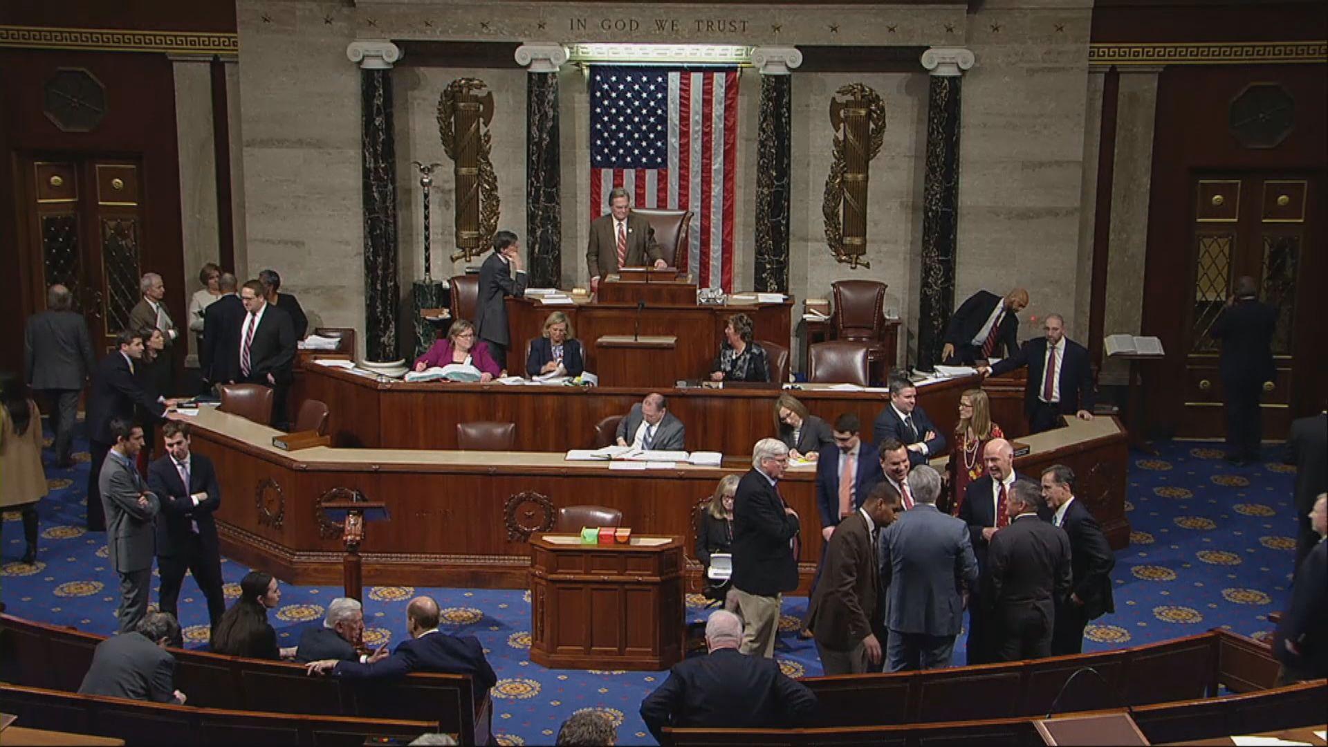 美國國會未能通過開支法案 政府局部停擺