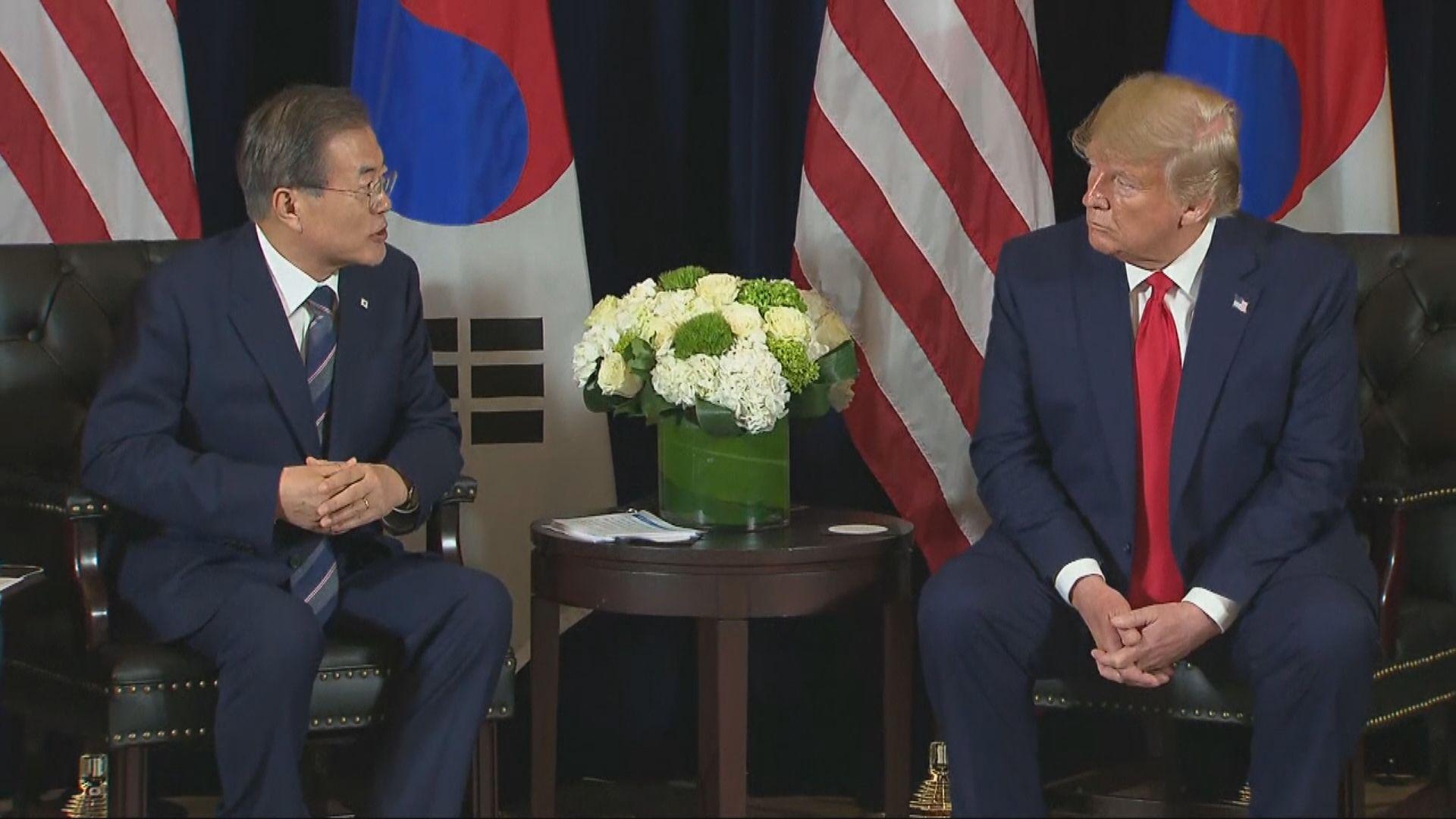 美韓首腦通電話認同朝鮮半島形勢嚴峻