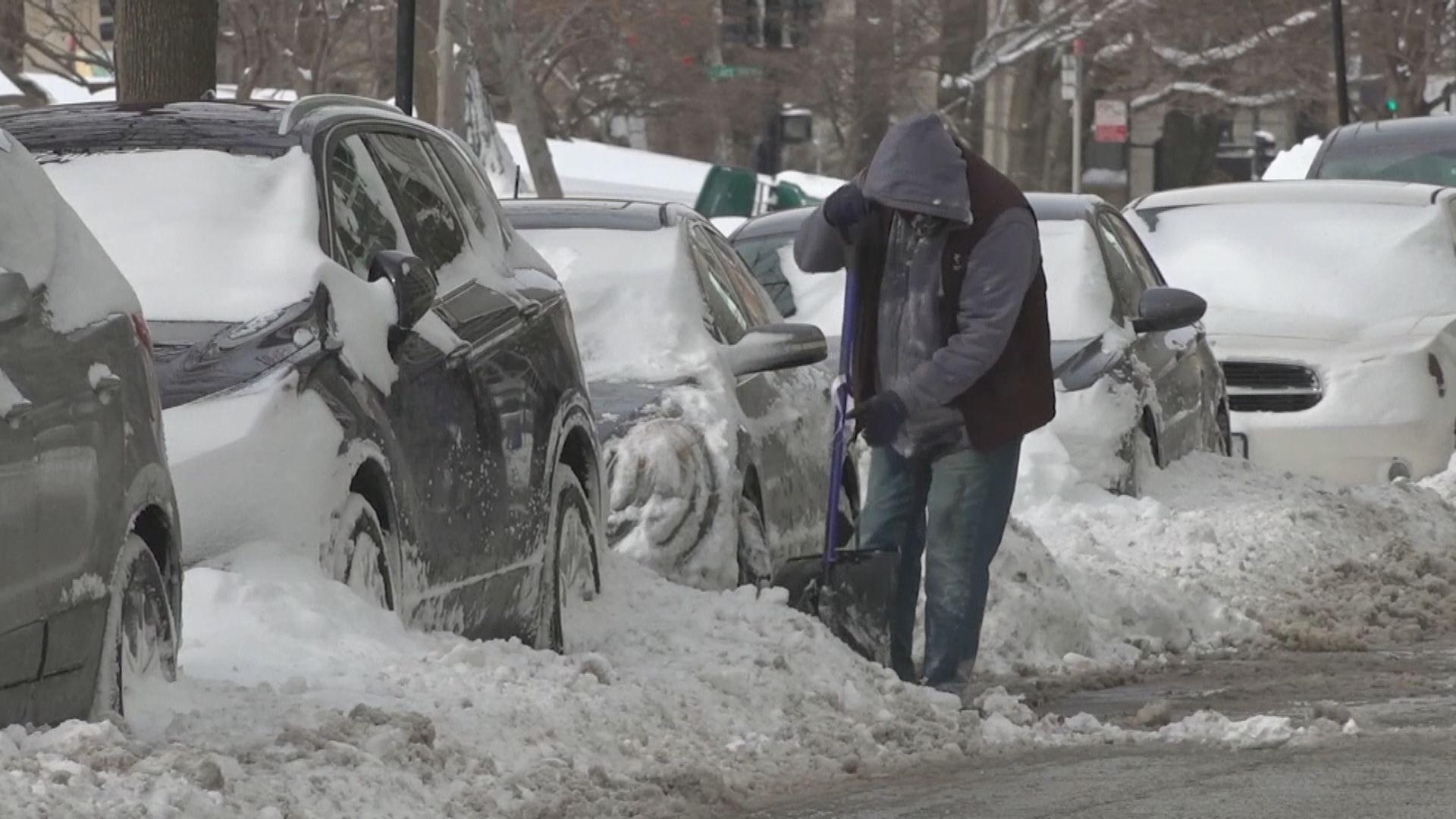 北極寒流襲美國多州 有人私家車內取暖一氧化碳中毒亡