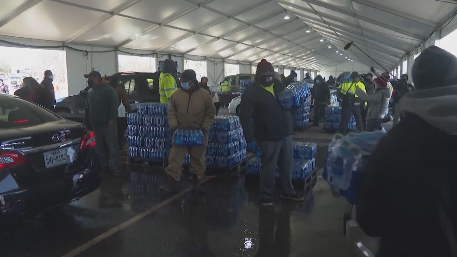 得州逐步恢復供電 惟爆食水危機