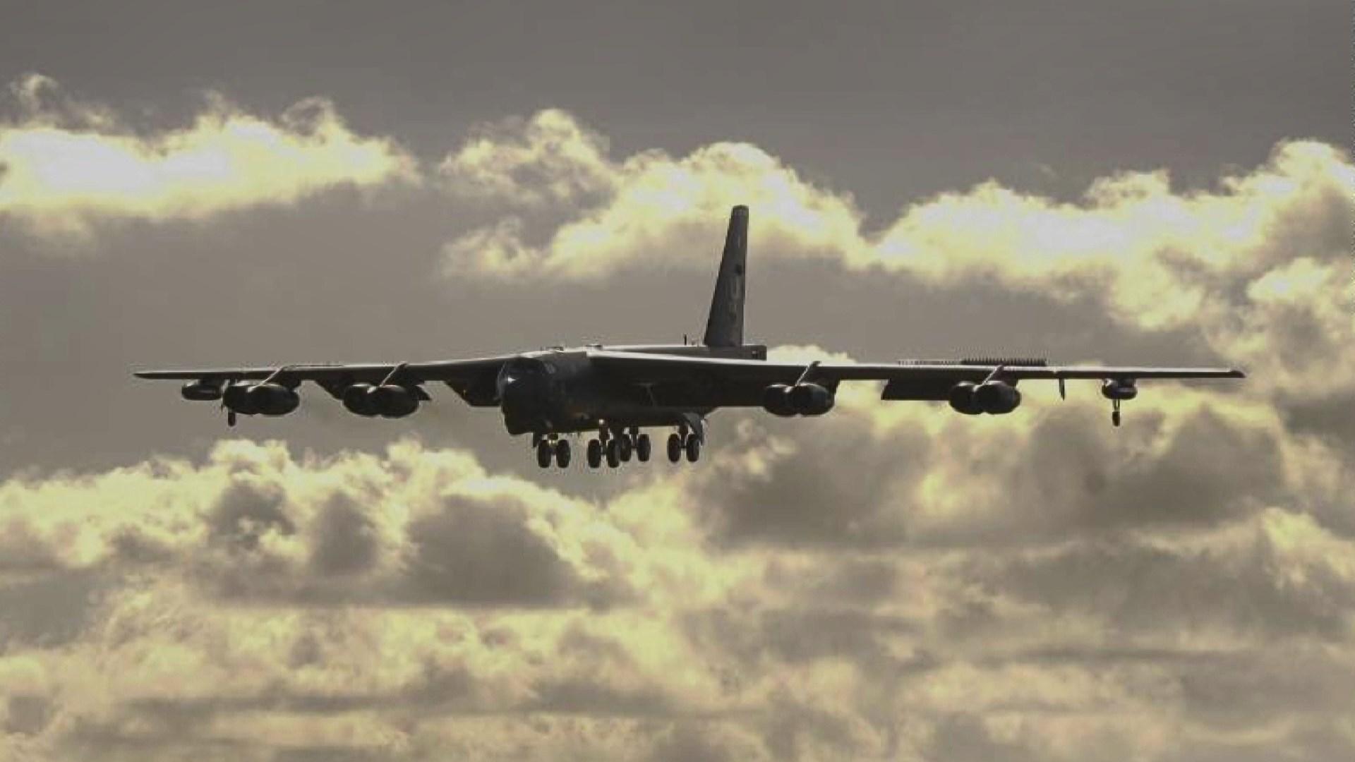美國轟炸機再度飛越南海