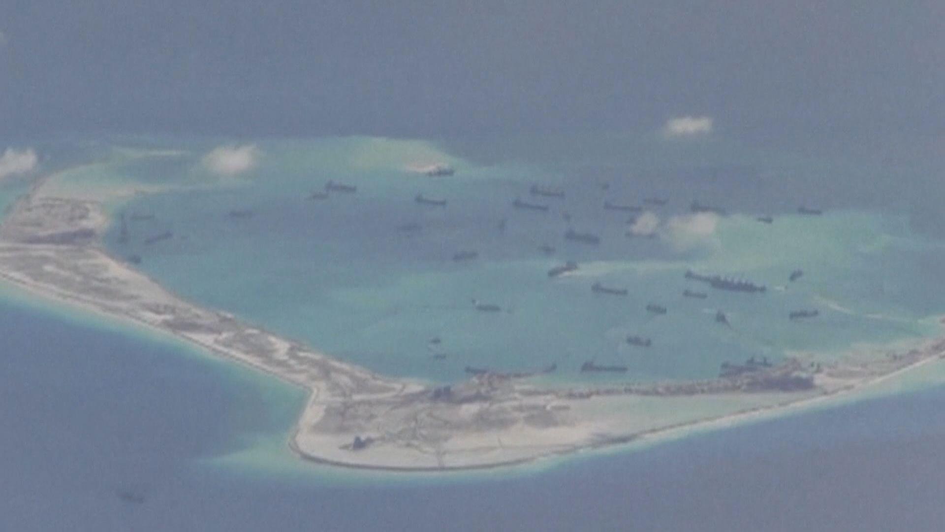 美首指中國南海聲索違法 中批美挑撥與區內國家關係