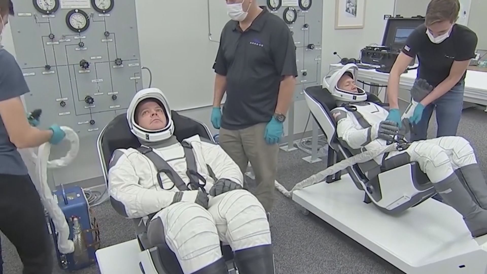 SpaceX料於周三下午載人升空 天氣成唯一阻滯