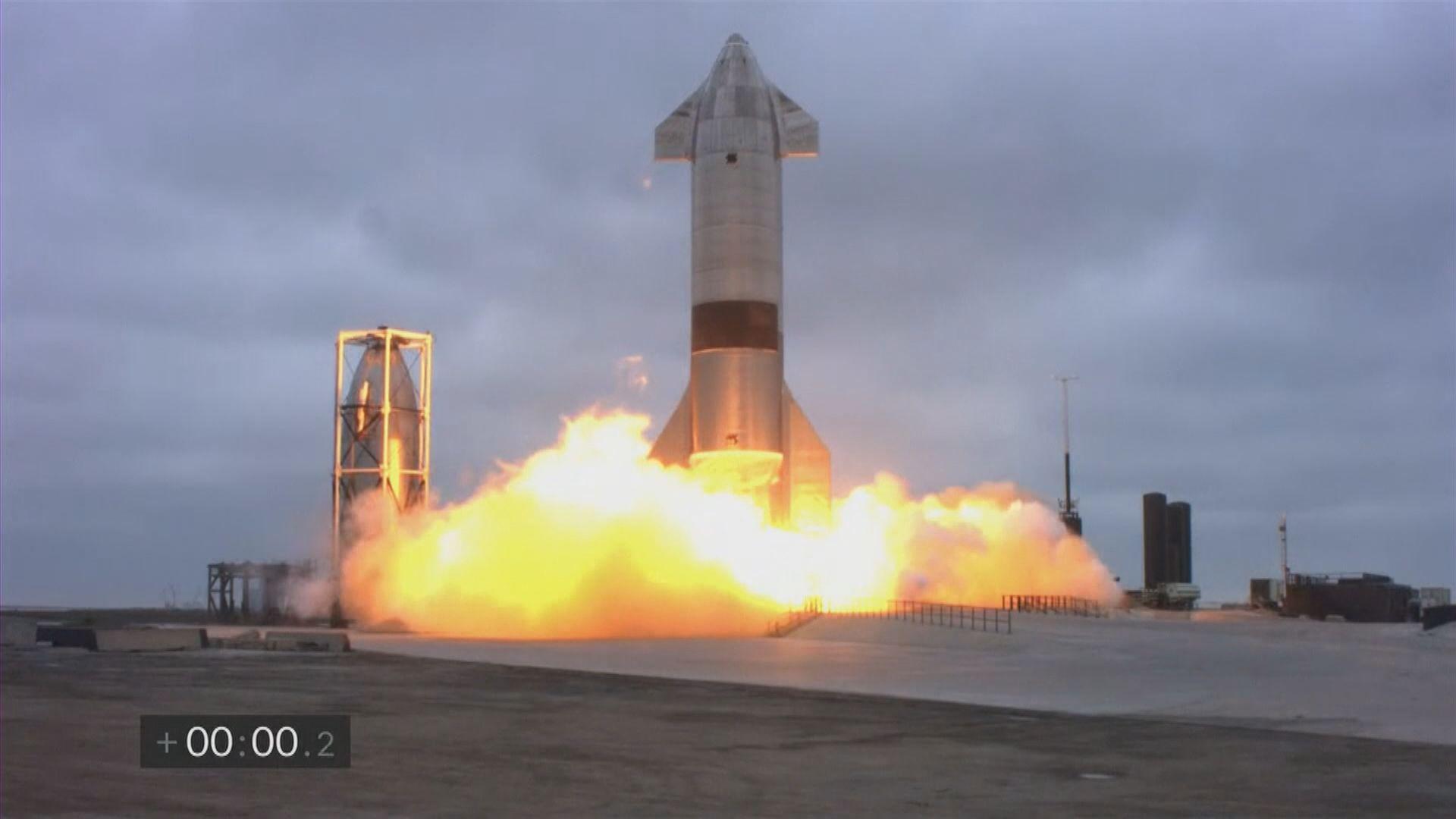 SpaceX星際飛船第五次試飛安全著陸