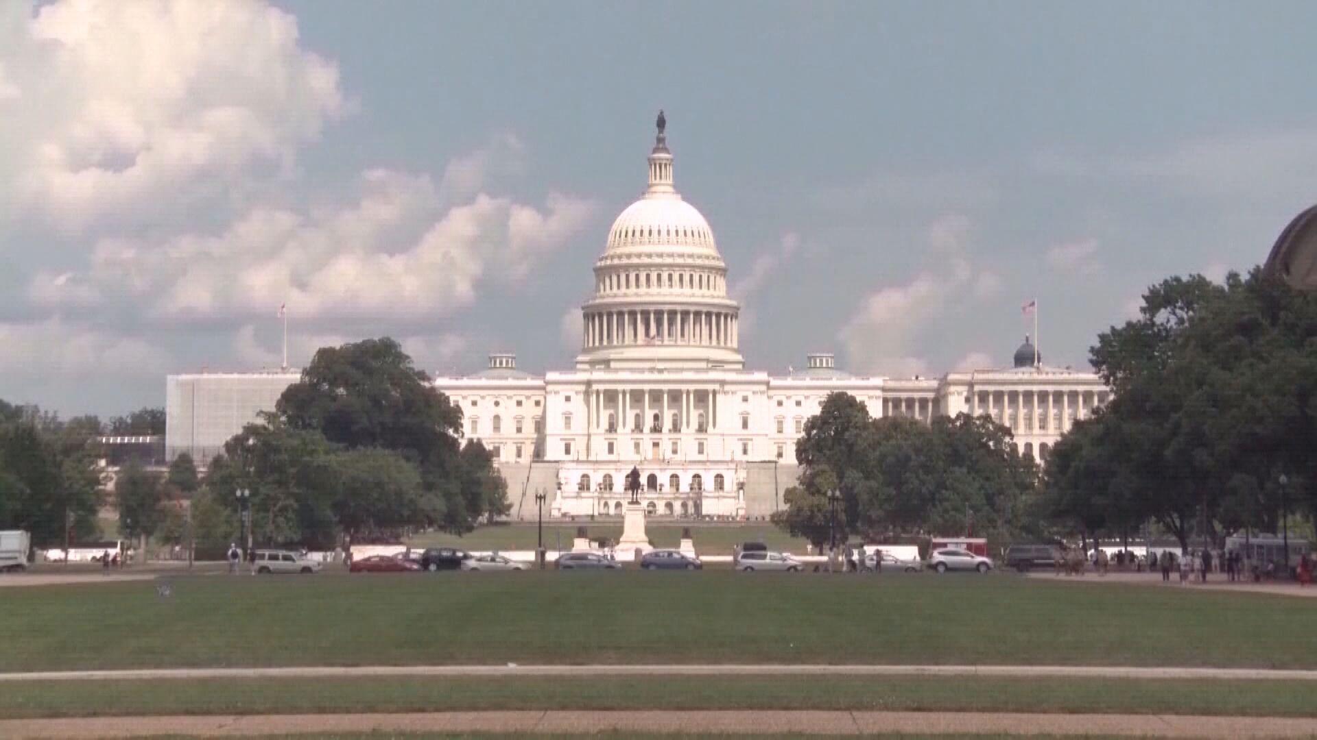 美國參議院通過為期一周的臨時撥款法案