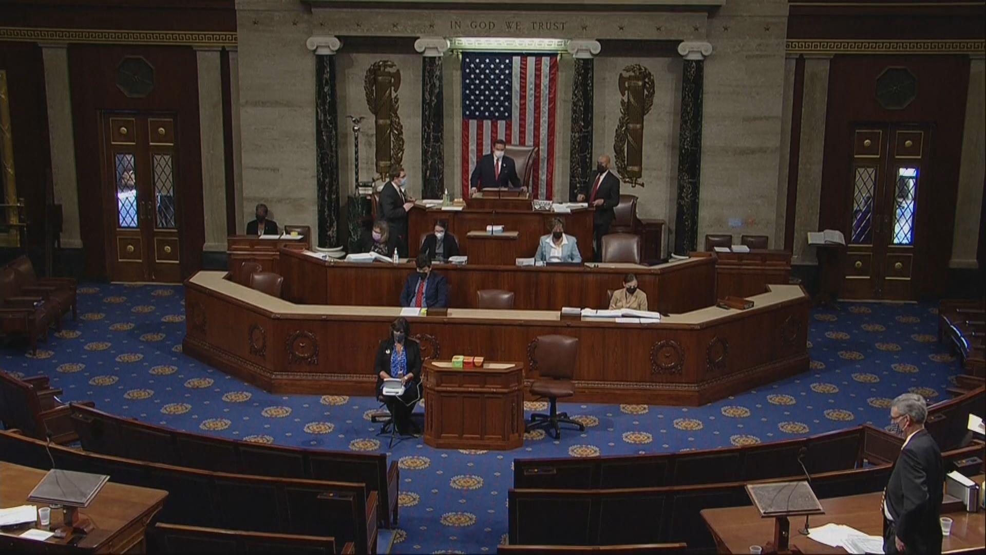 美國眾議院通過1.9萬億美元疫情紓困方案