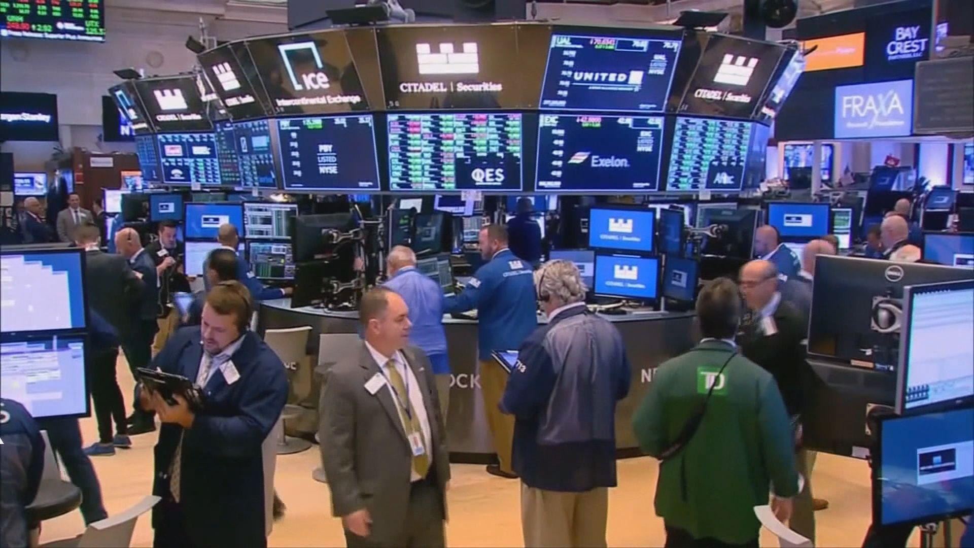 華爾街股市連升4天