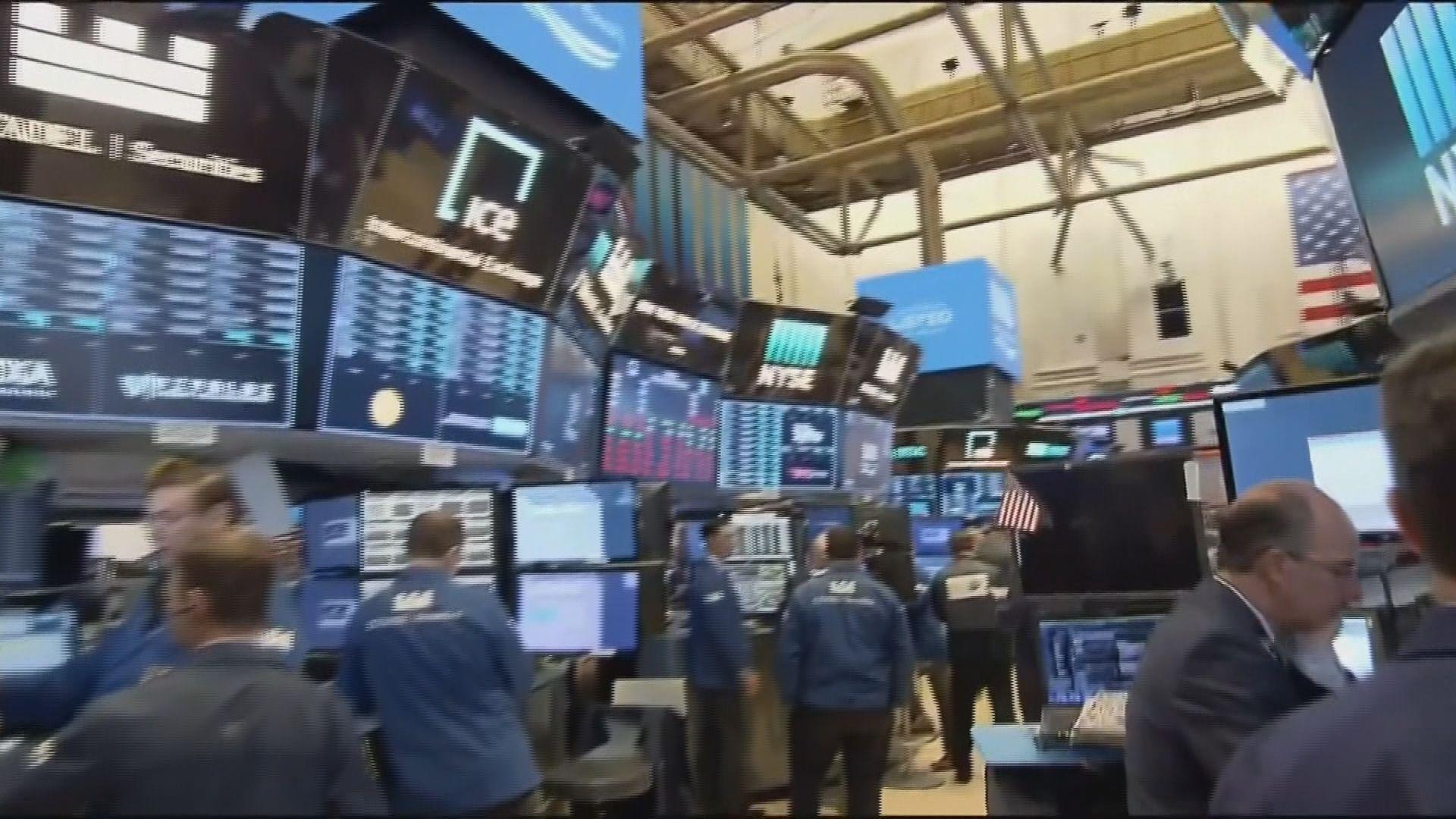 美股先跌後升主要受到科網及能源股造好帶動