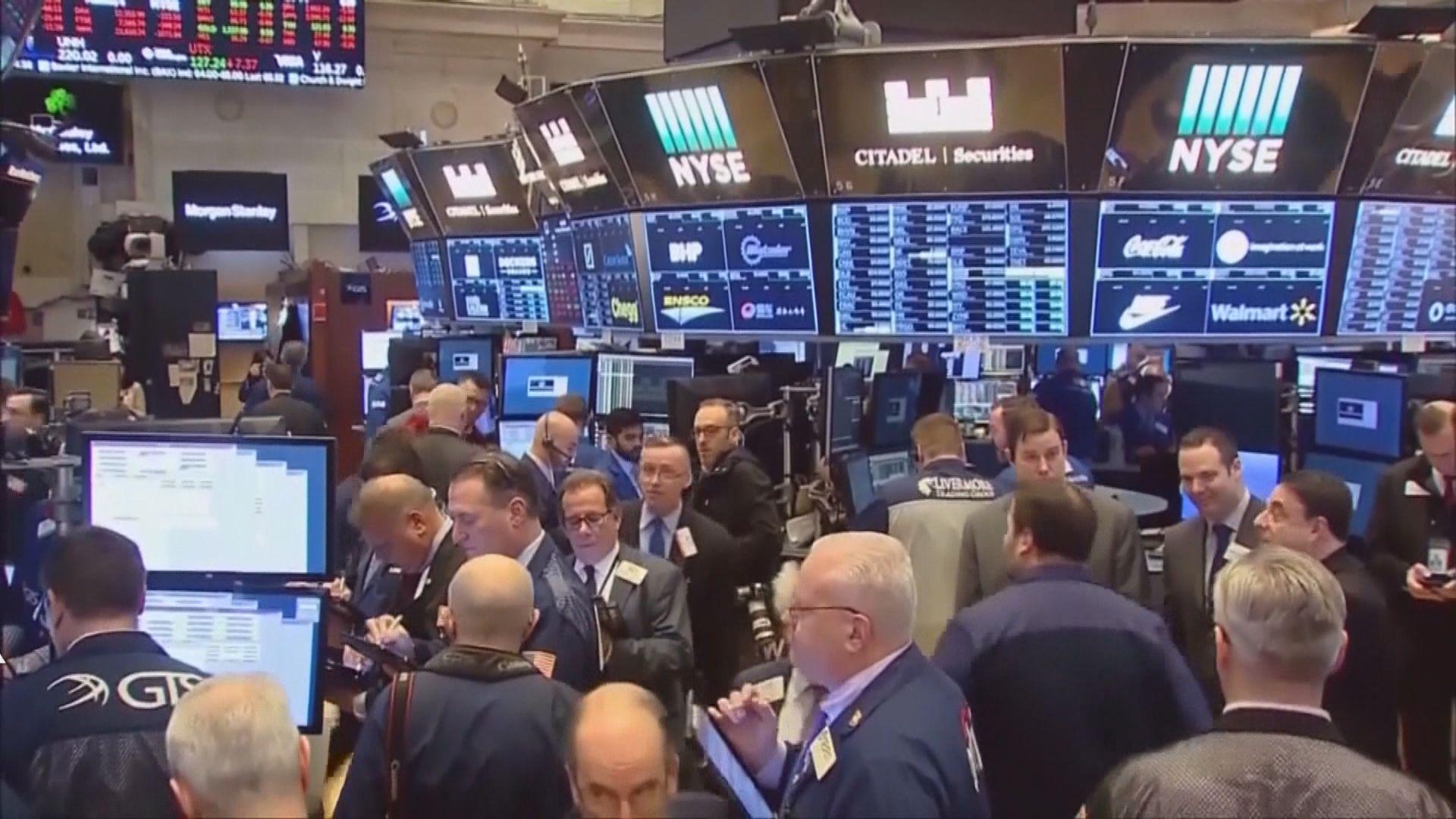 投資者趁低吸納 道指結束2連跌