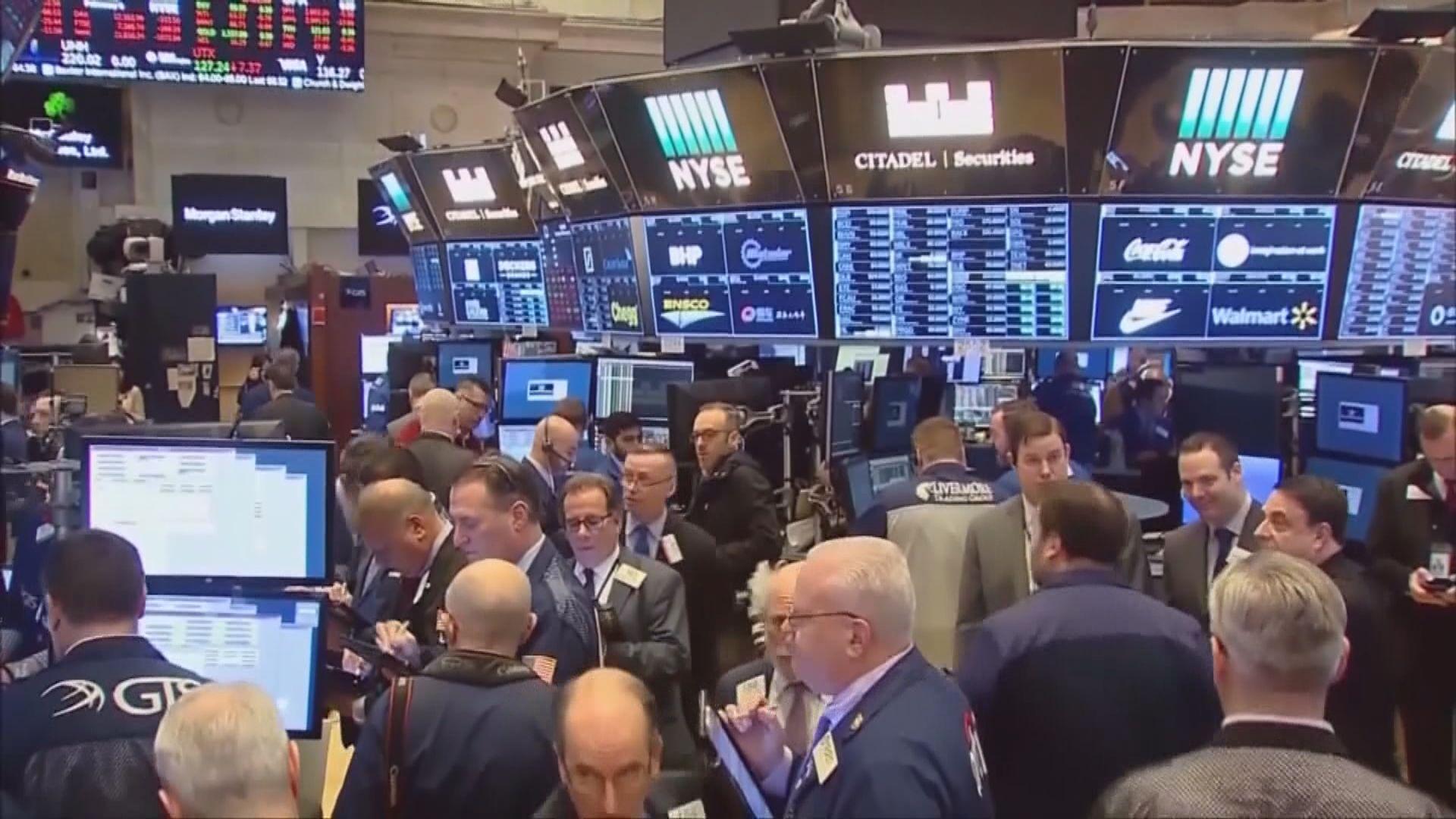 企業業績佳 美股3大指數升逾2%