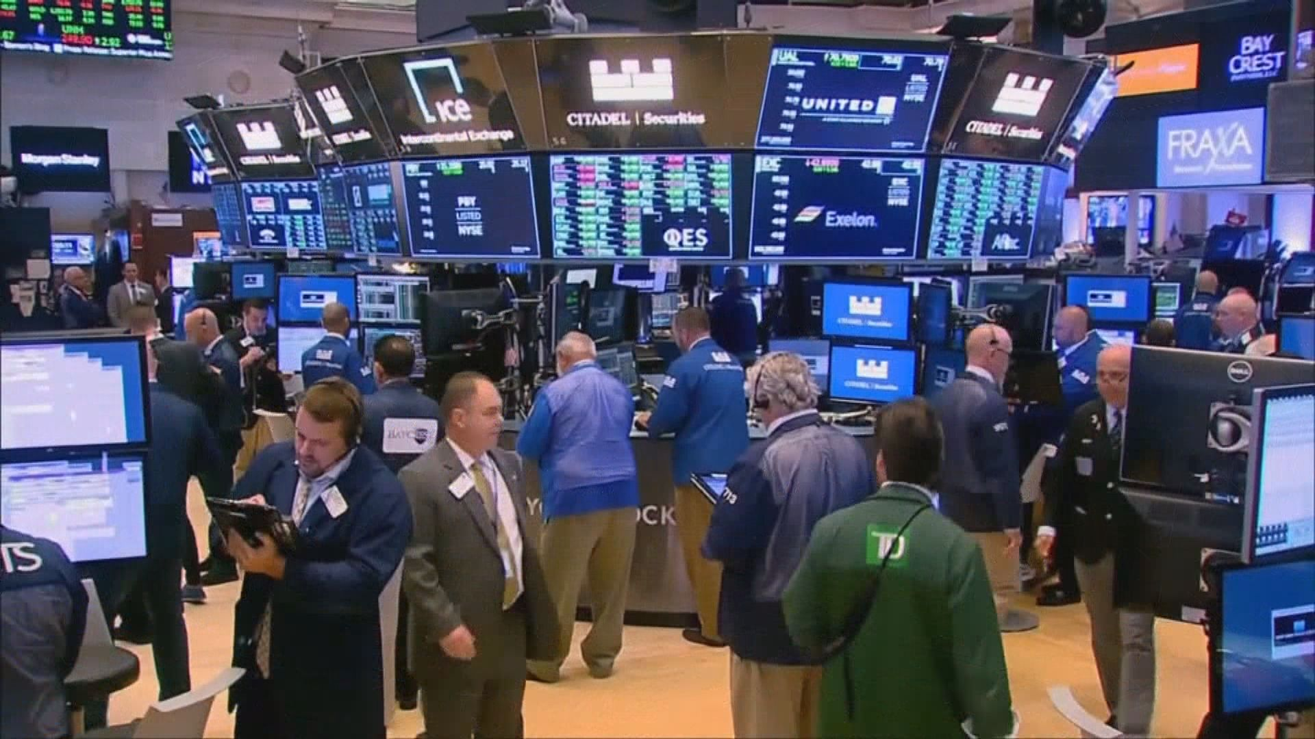 貿易戰憂慮紓緩及企業業績佳 美股3連升