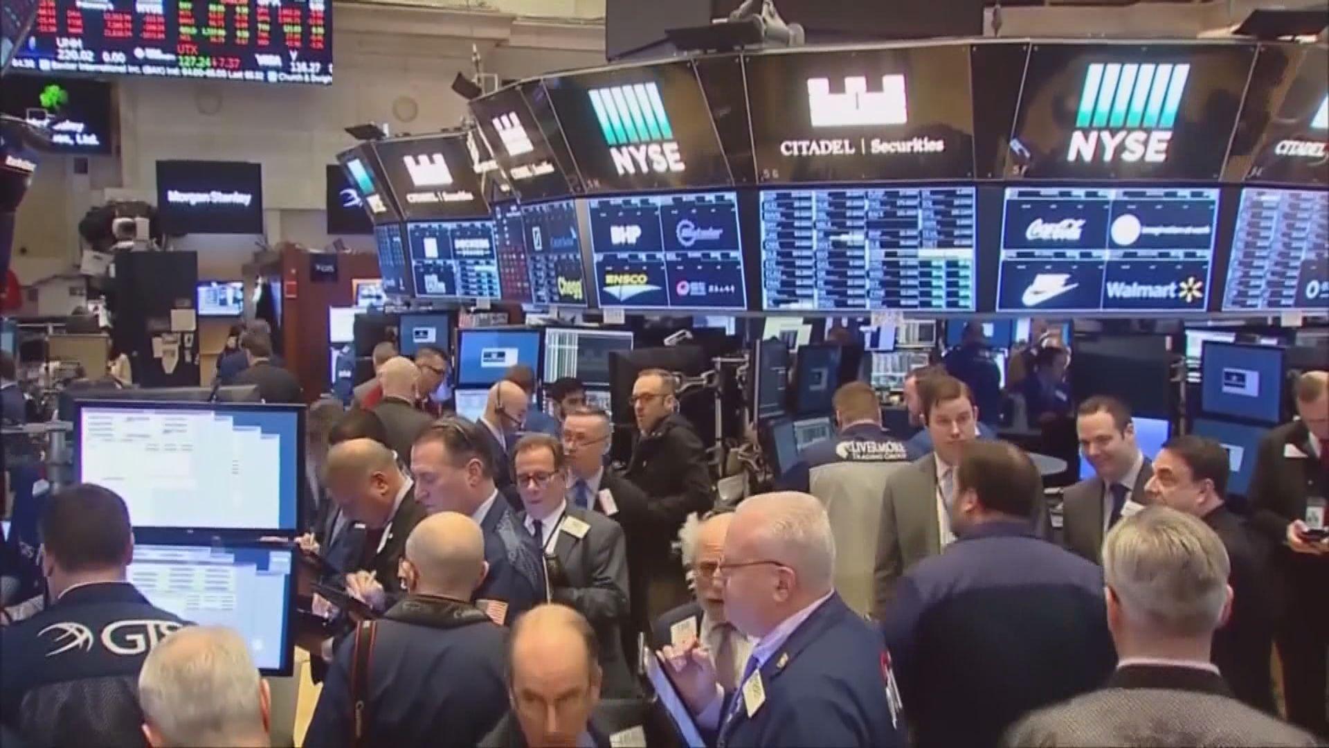 波音及科技股領跌 道指最多跌逾500點