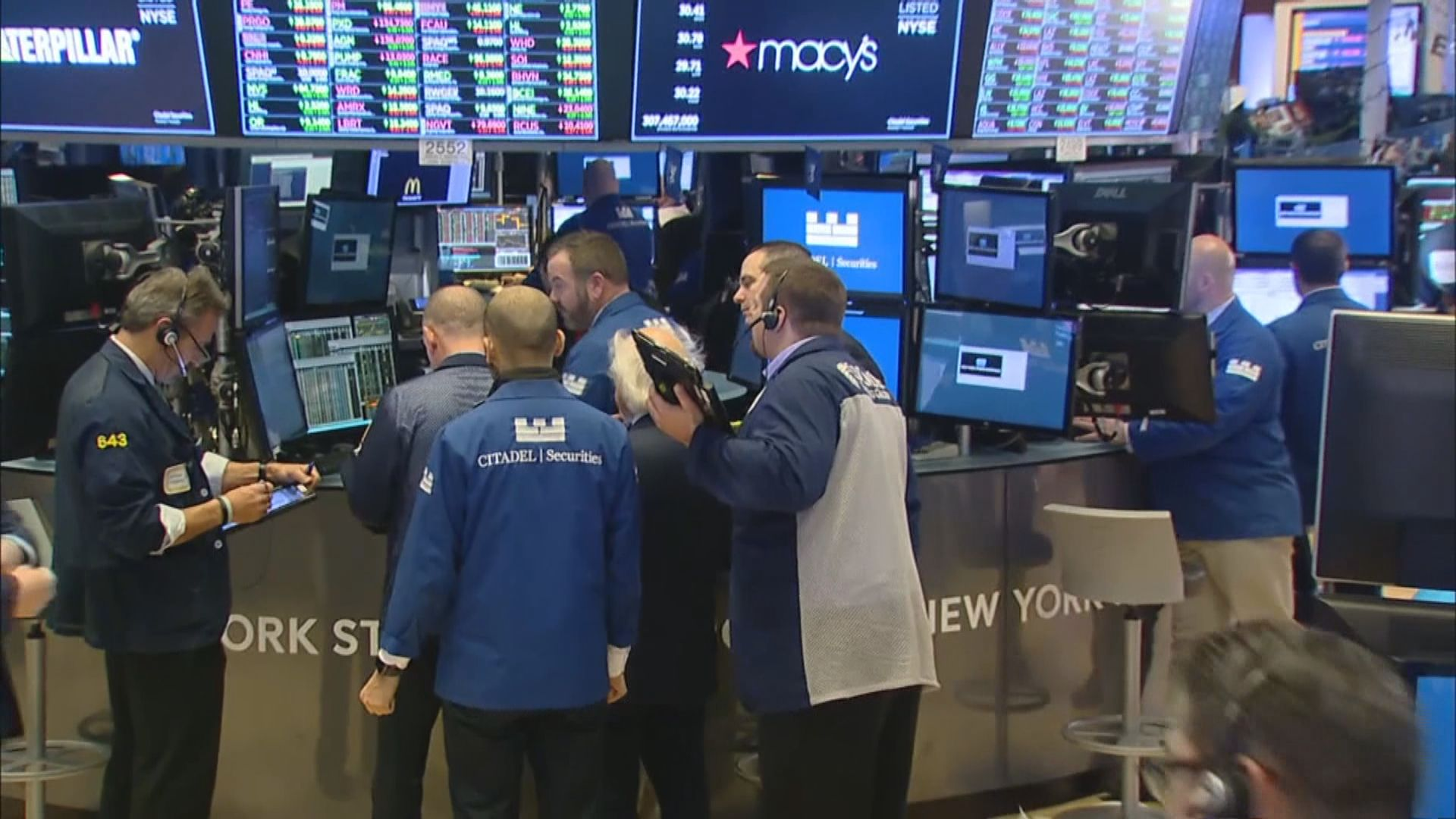 美股個別發展 中美貿易憂慮拖累道指3連跌