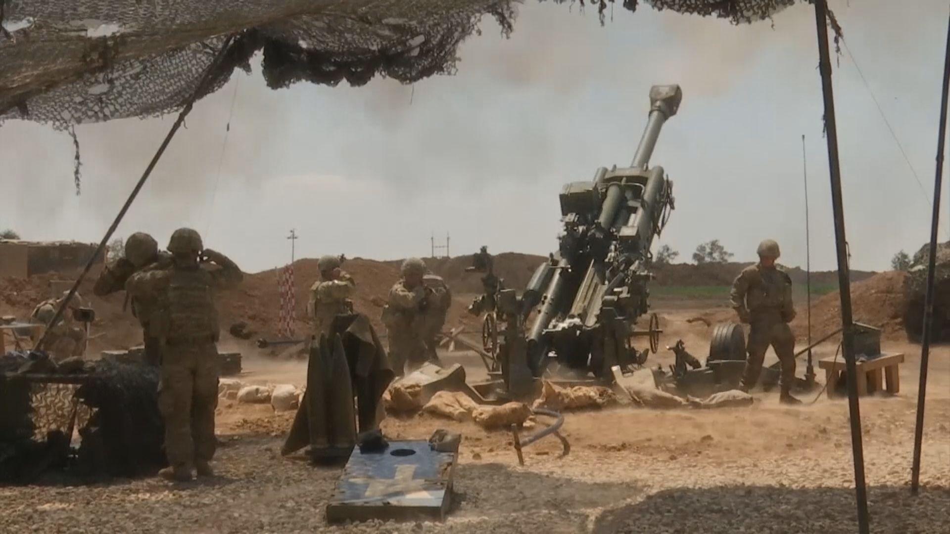 美軍空襲敘利亞伊拉克邊境親伊朗民兵 組織稱會報復