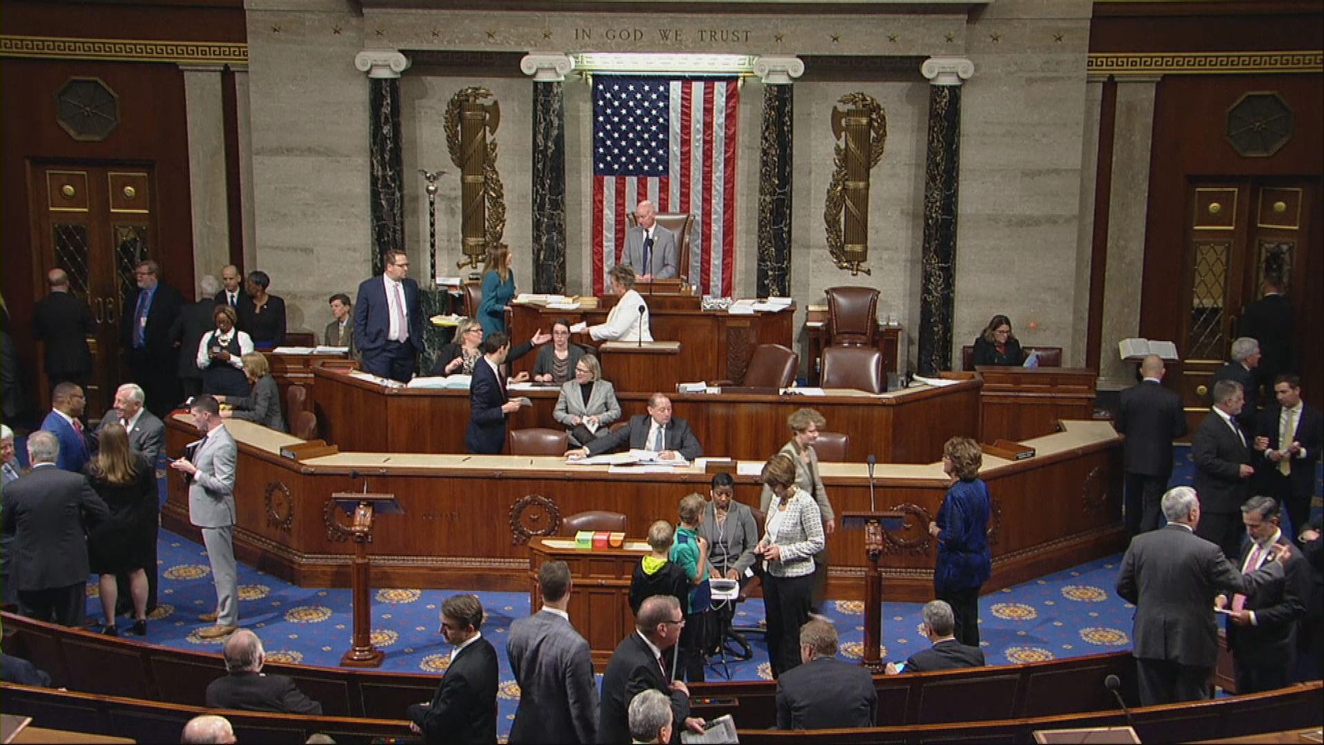 眾議院通過議案譴責特朗普撤兵敘利亞