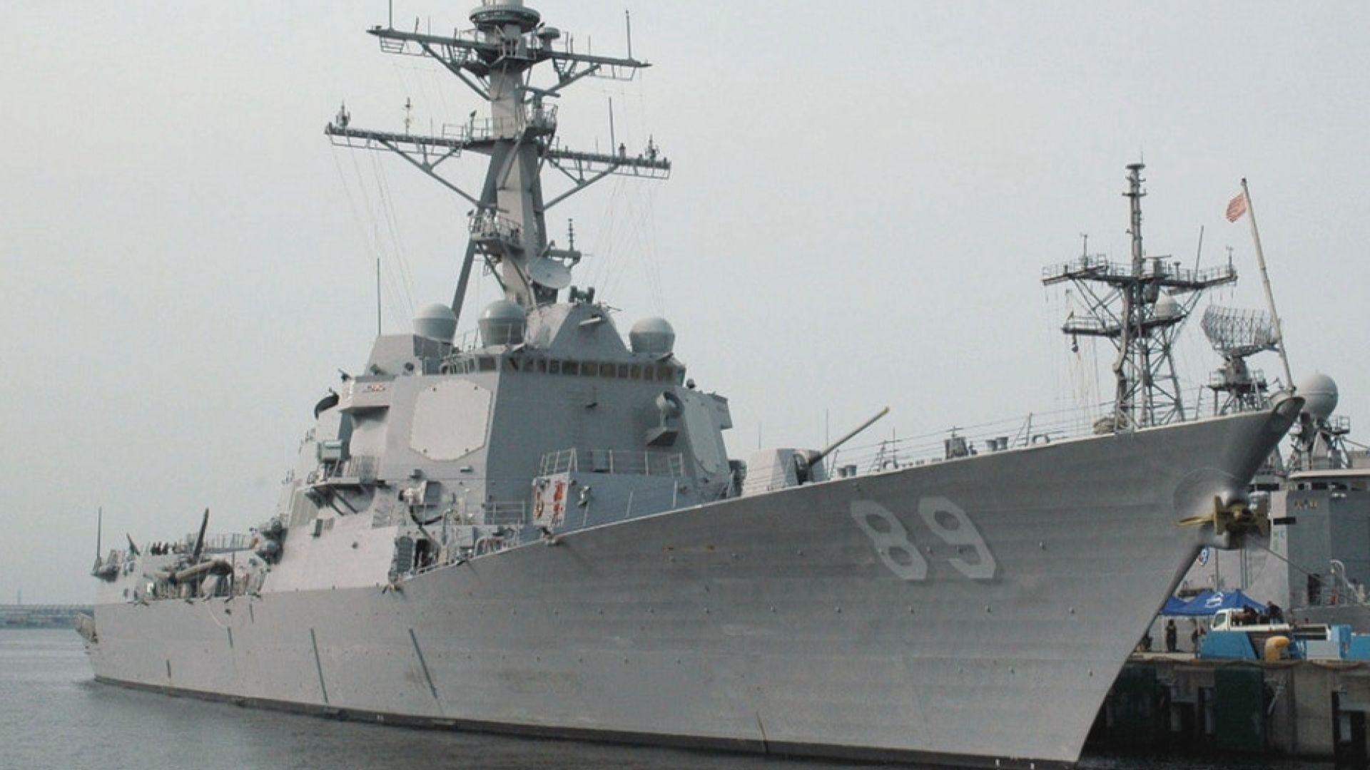 據報美國擬再派軍艦通過台灣海峽