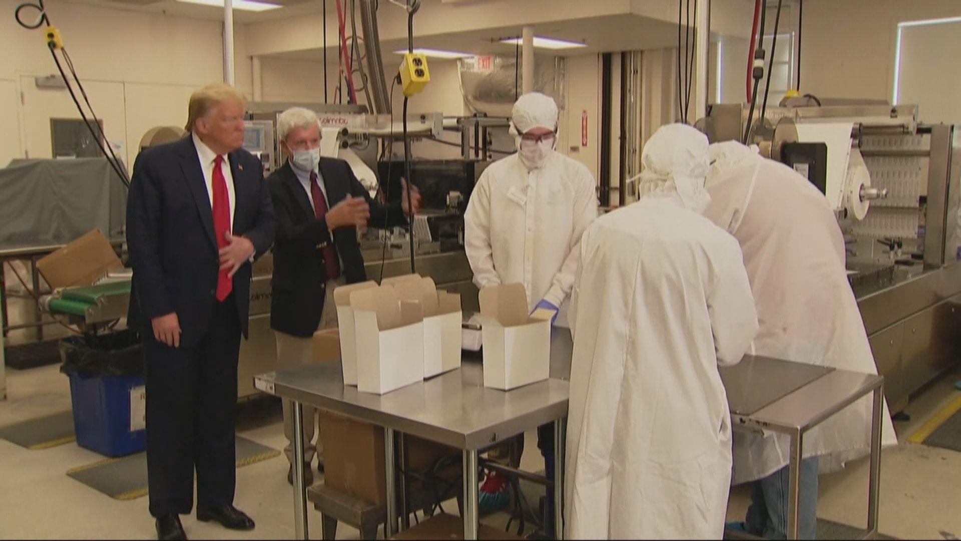 特朗普揚言再對中國貨物加徵關稅