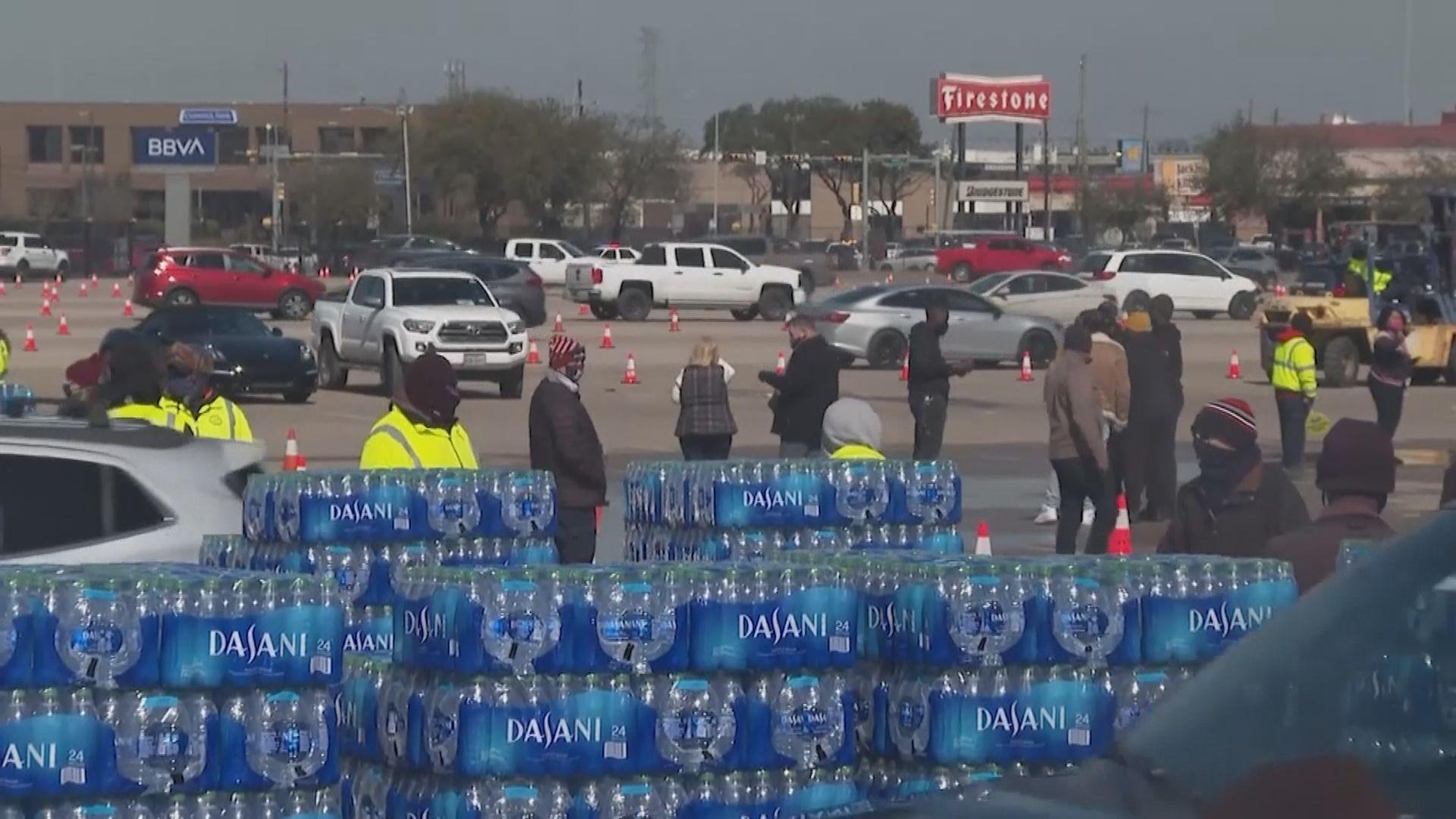 百事娱乐:美國得州供水問題未解決 民眾