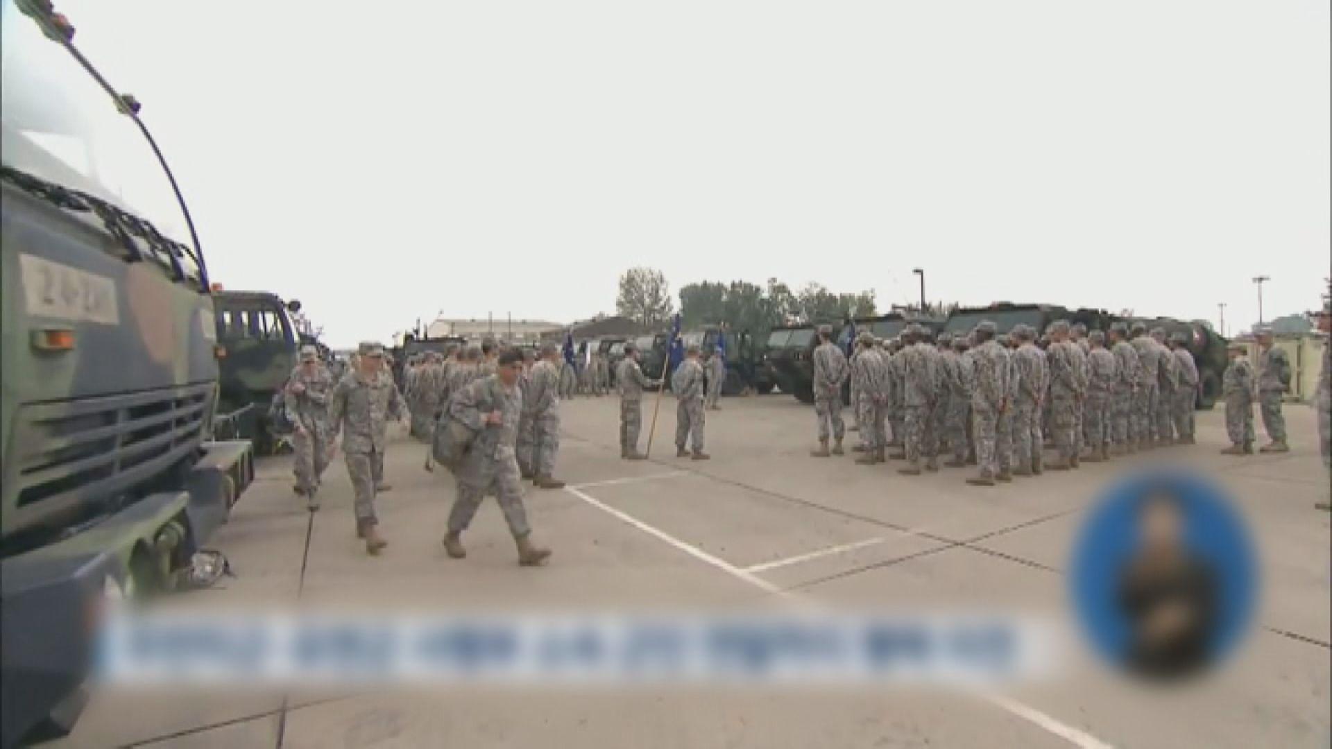 報道指美國擬減駐韓部隊規模