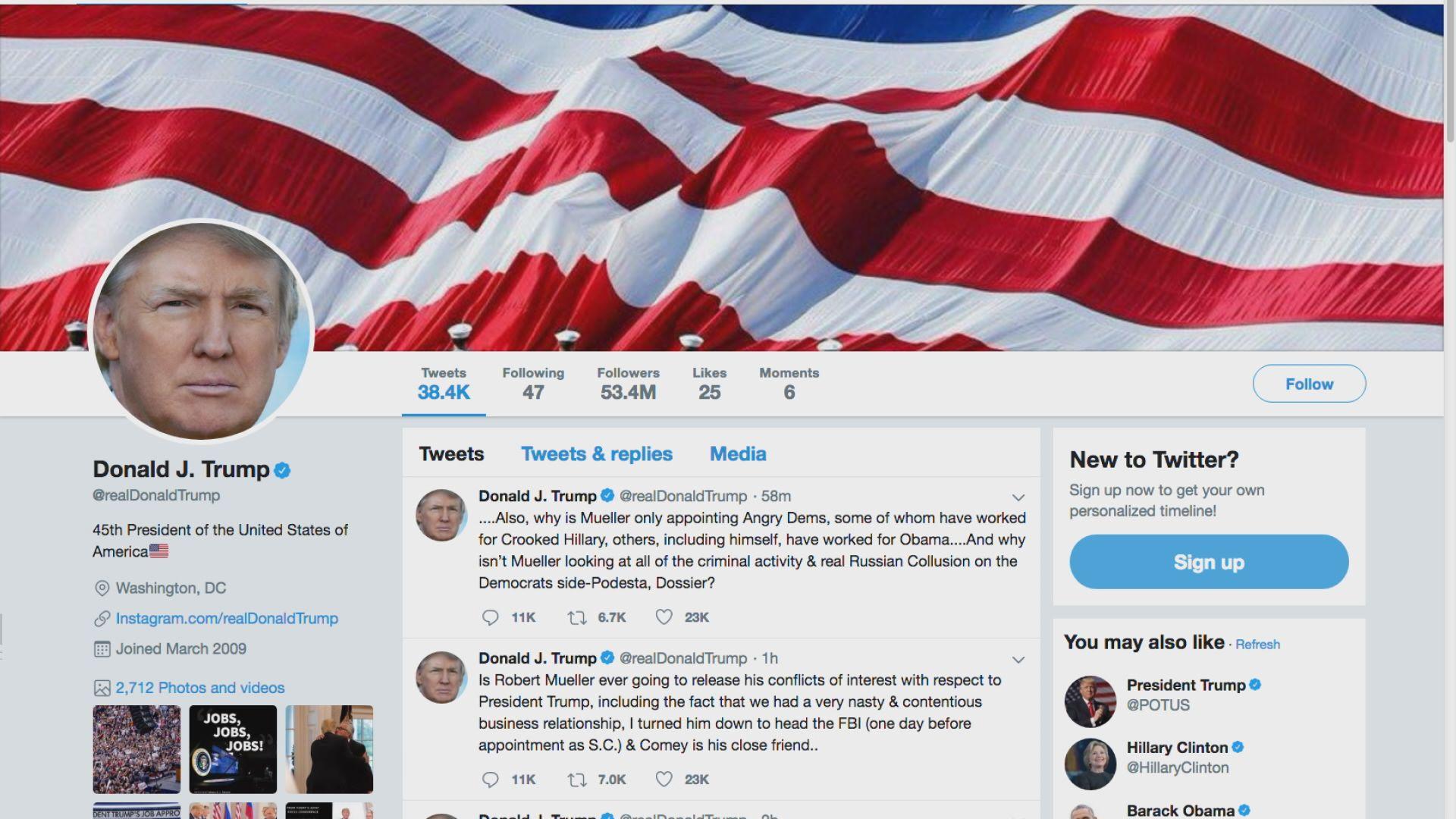 特朗普再批傳媒製造假新聞