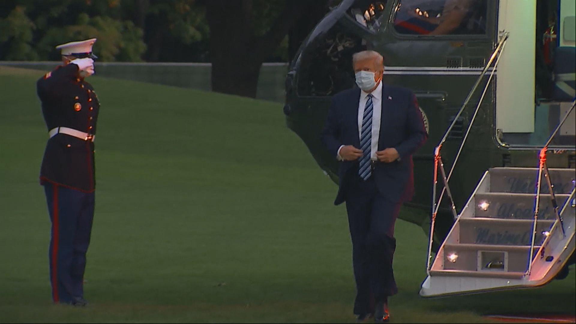 白宮幕僚長指特朗普健康情況良好