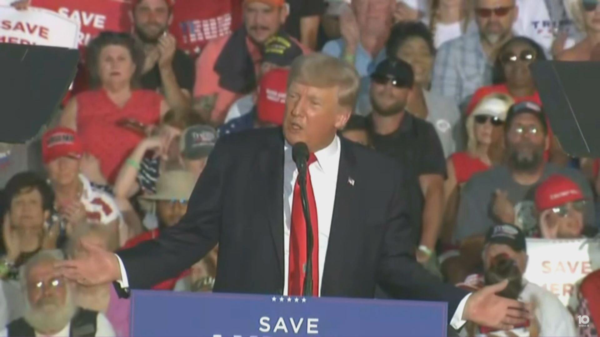 特朗普卸任首現集會 籲支持者助共和黨奪回議席
