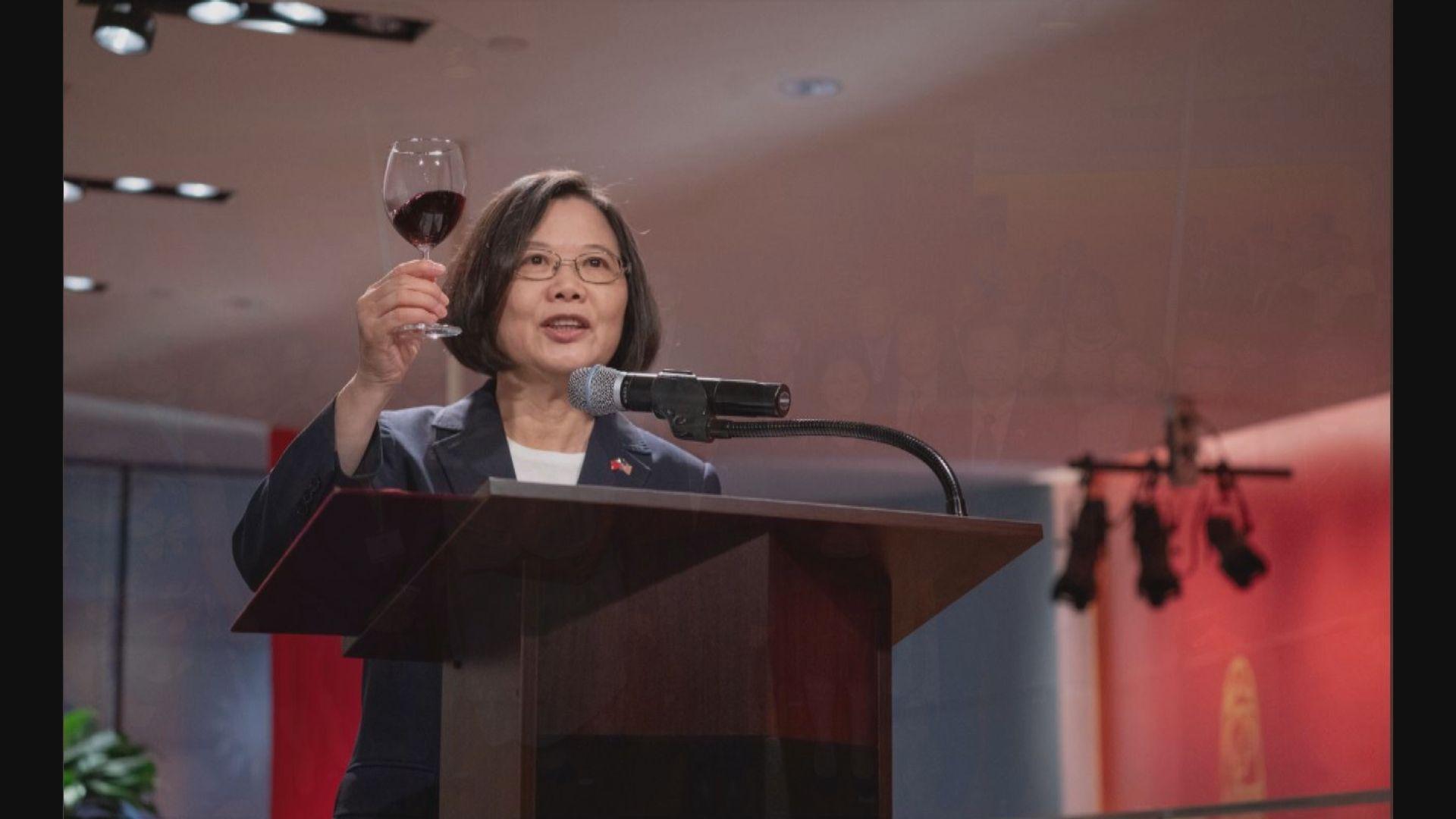 蔡英文過境紐約提到香港問題 盼港府回應市民訴求