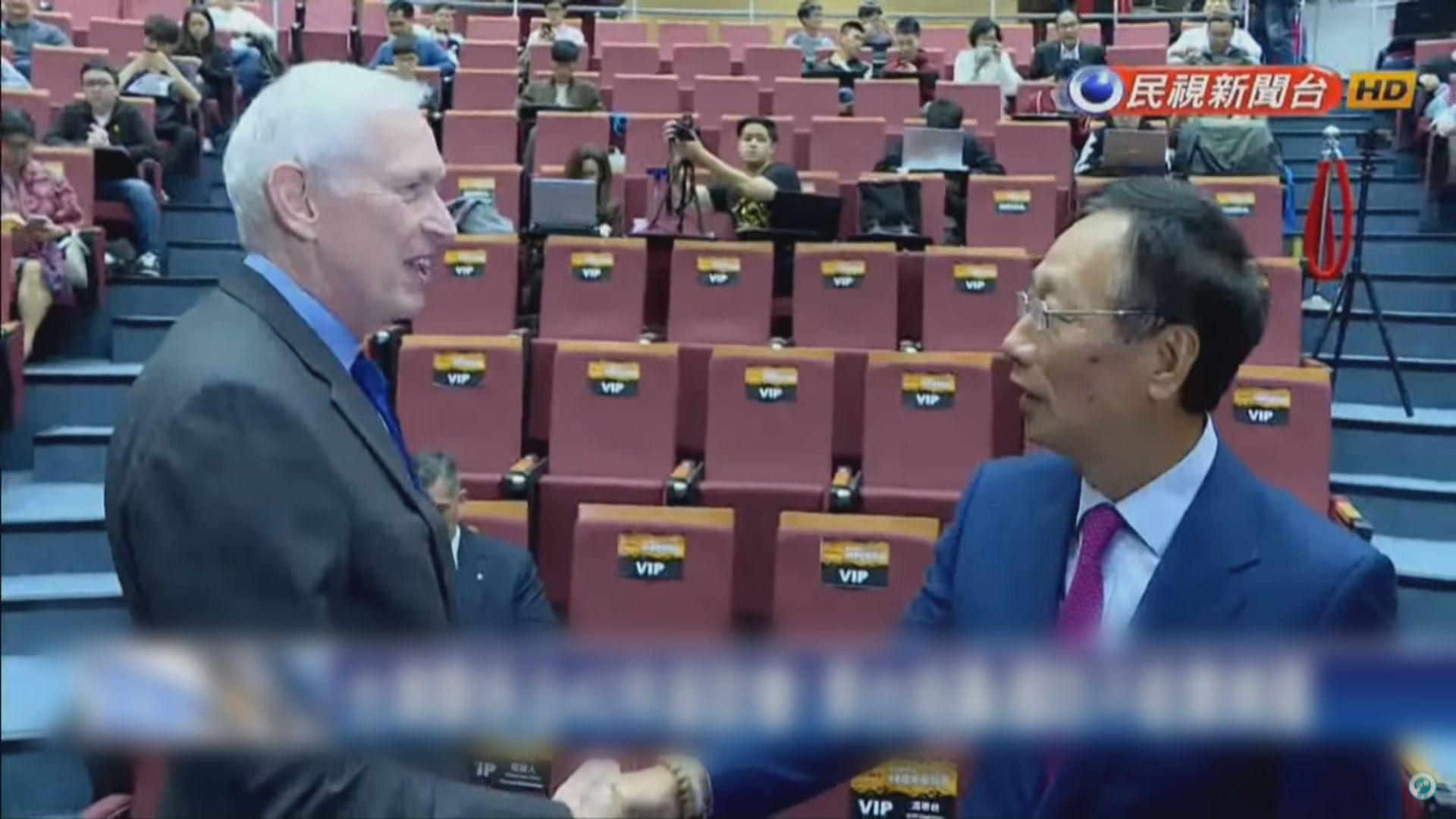 莫健:美國不會介入明年台灣大選