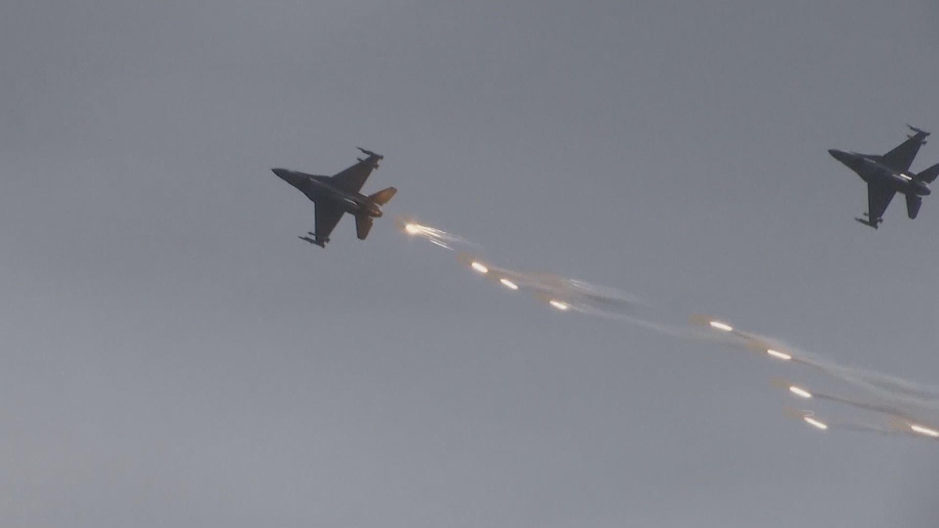美媒:F-16戰機售台已提交國會審查
