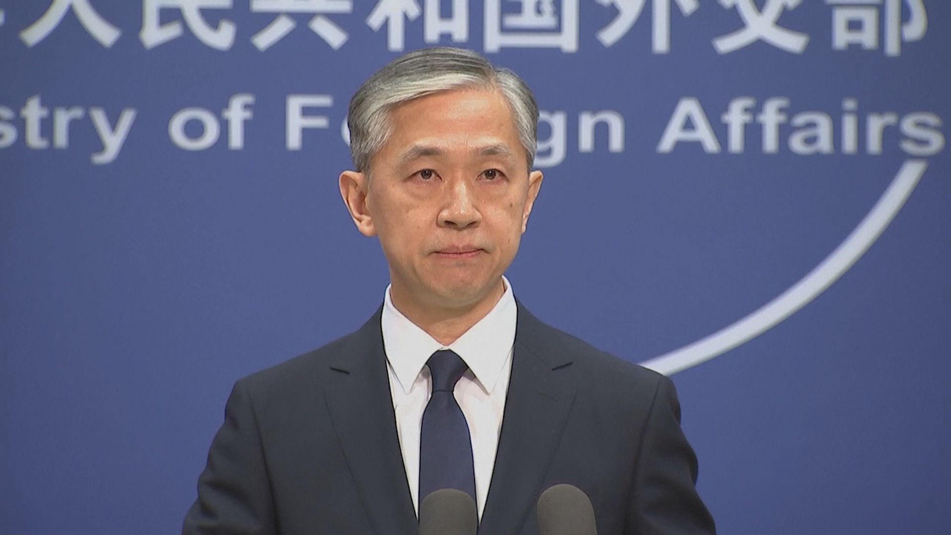中國就美副國務卿訪台向美國提出嚴正交涉