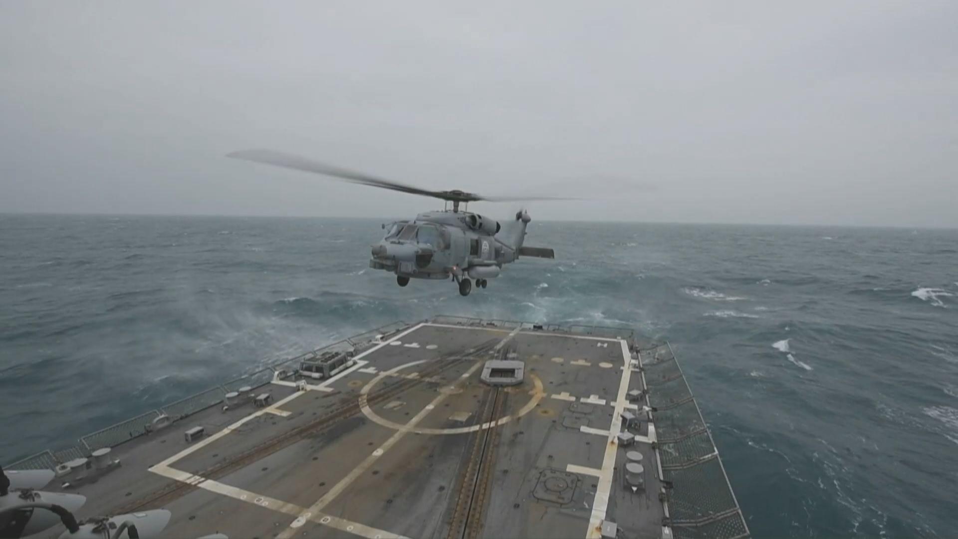 再有美軍軍艦通過台海 中方:堅決反對