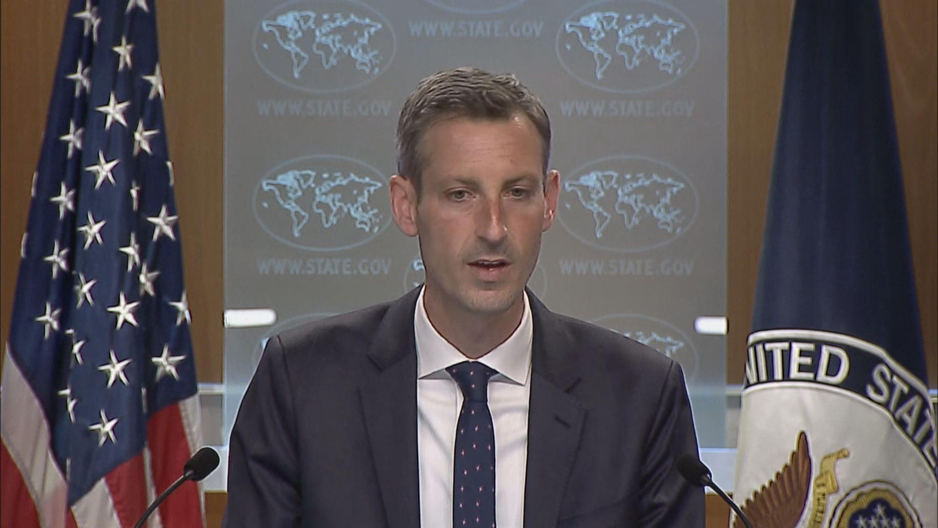 美國指有能力抵抗任何危及台灣安全的行動